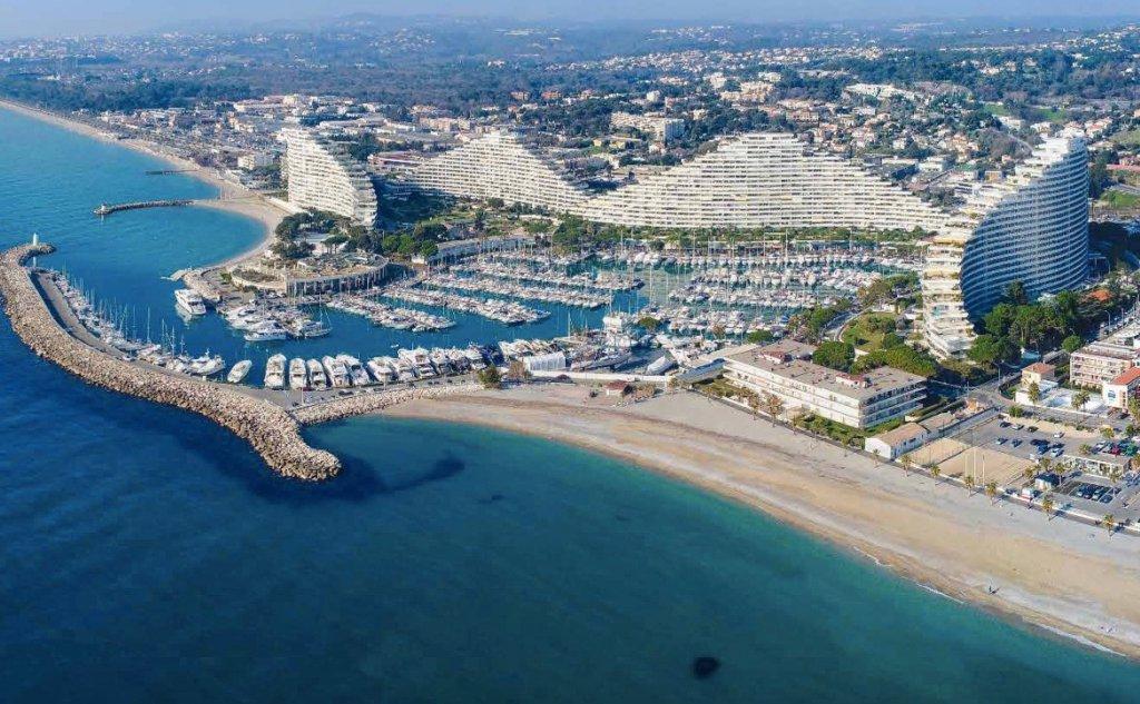 VILLENEUVE LOUBET Plage - Côte d'Azur - vente appartement neuf d'exception avec vue mer