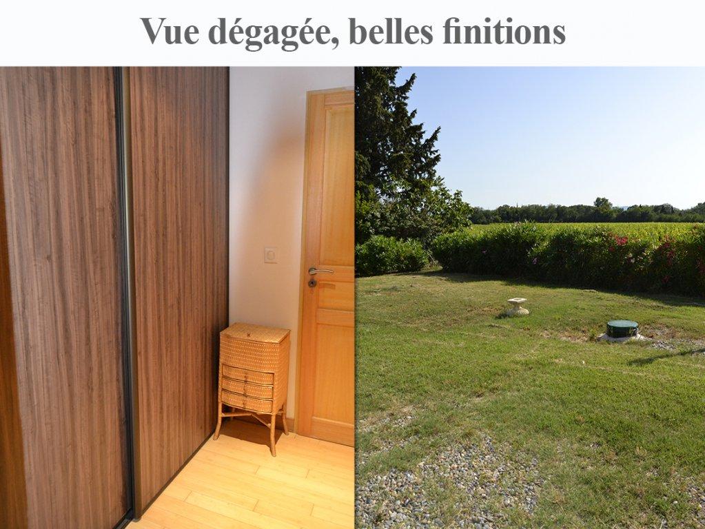 Villa 4 faces 118 m² terrain 2200 m² au calme sans vis-à-vis