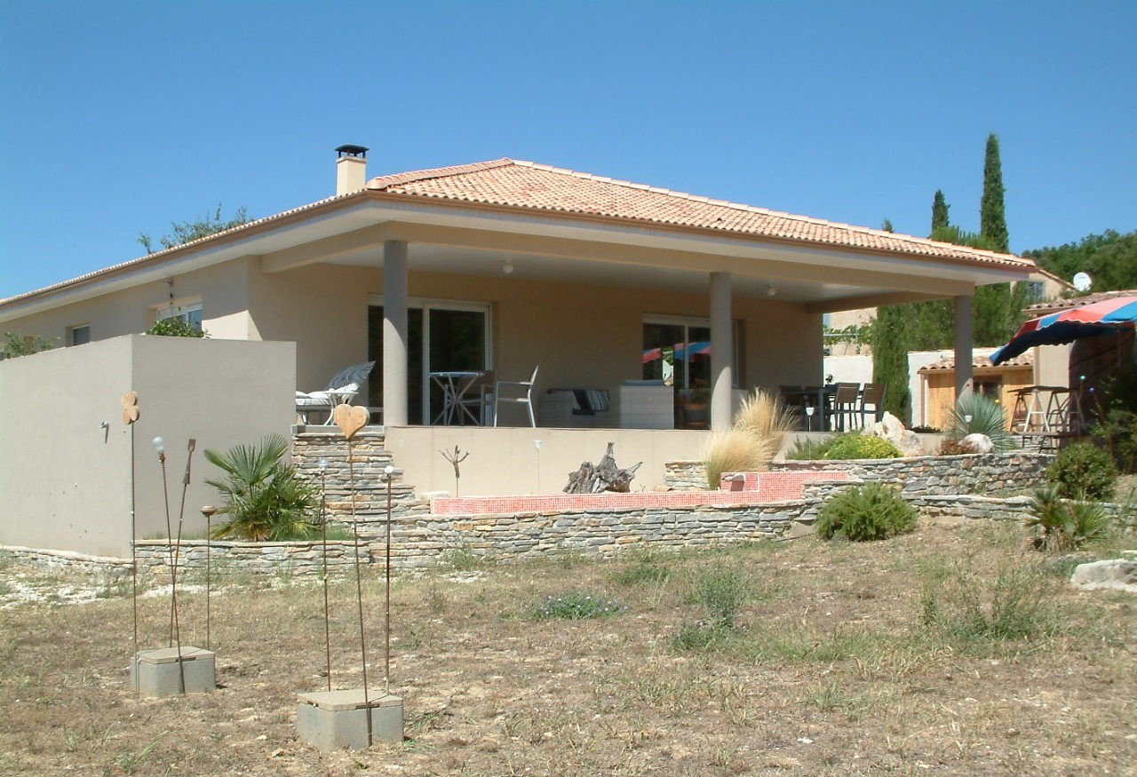 Villa contemporaine de plain pied