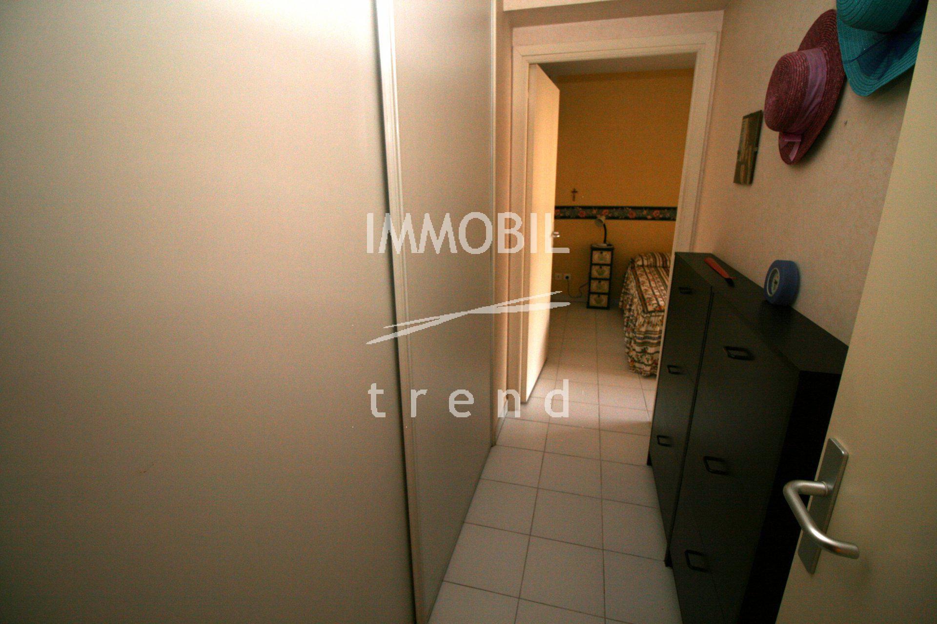Menton residence standing, appartement de 52 m2, terrasse, avec cave
