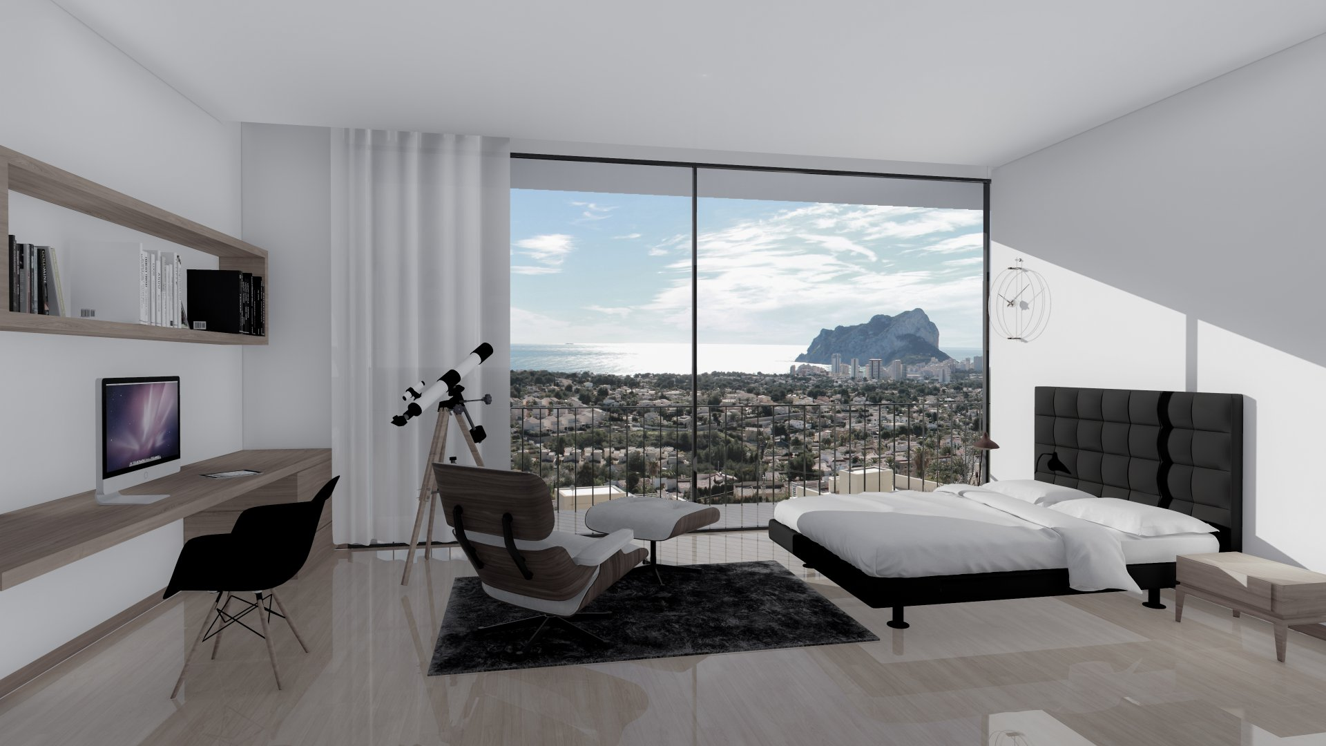 Stunning modern villa with sea view in Calpe