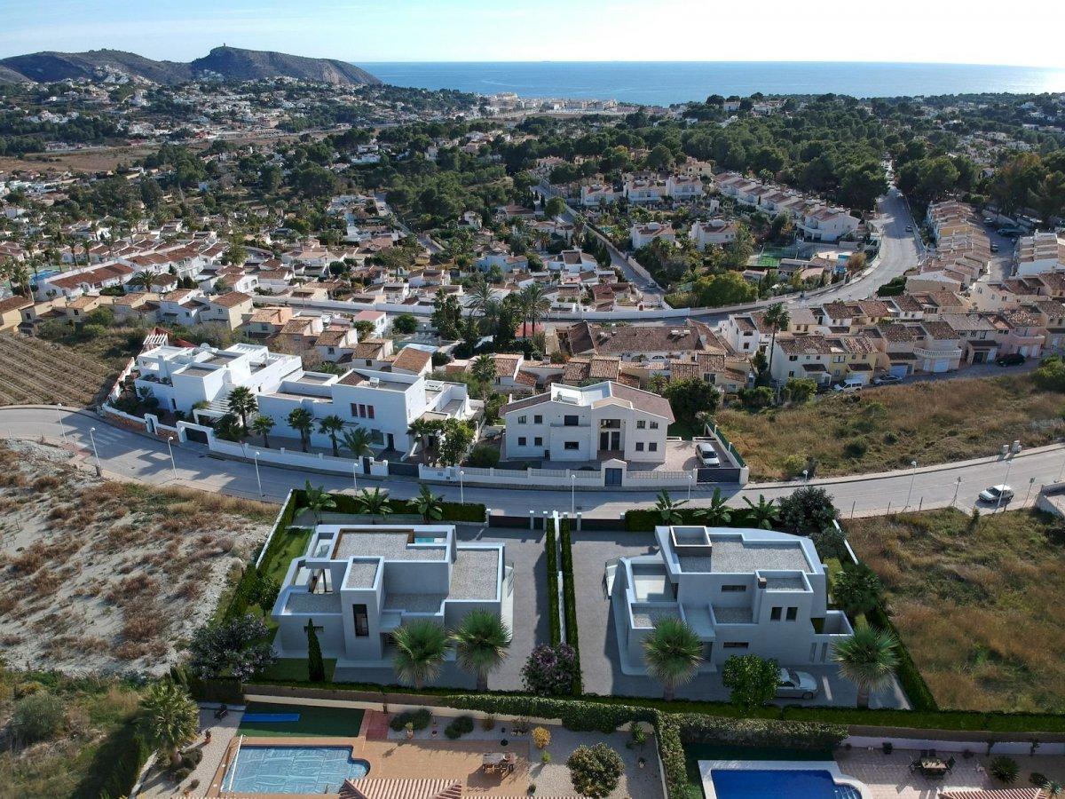 Nouveau projet de construction de luxe à Moraira
