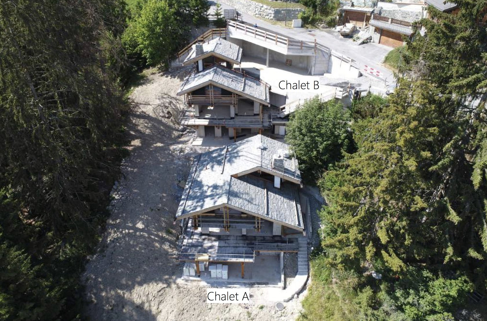 Photo of Brand new Twin Chalets - A & B
