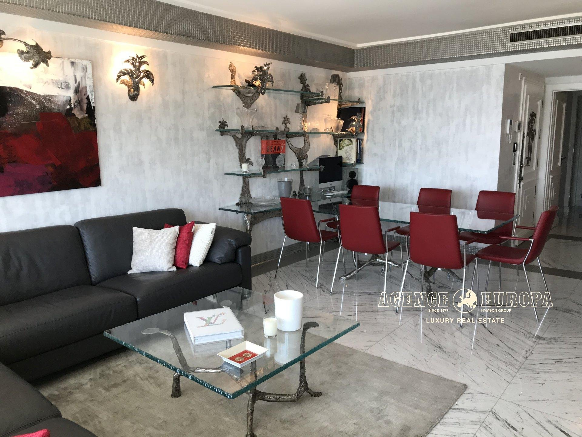 CANNES CROISETTE - BEAUTIFUL 3-BEDROOM APARTMENT