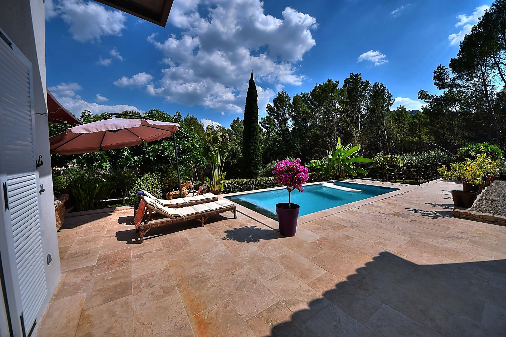 Superb house with guest house - nice view - 2 pools - Var Provence