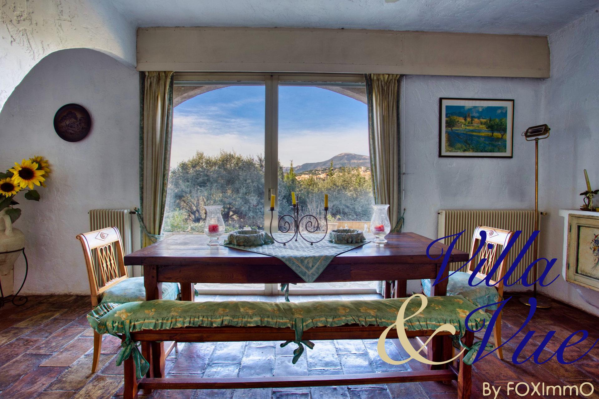Эксклюзивный дом, провансальский Мас нетипичный, с видом на деревню Святого Павла, бассейн