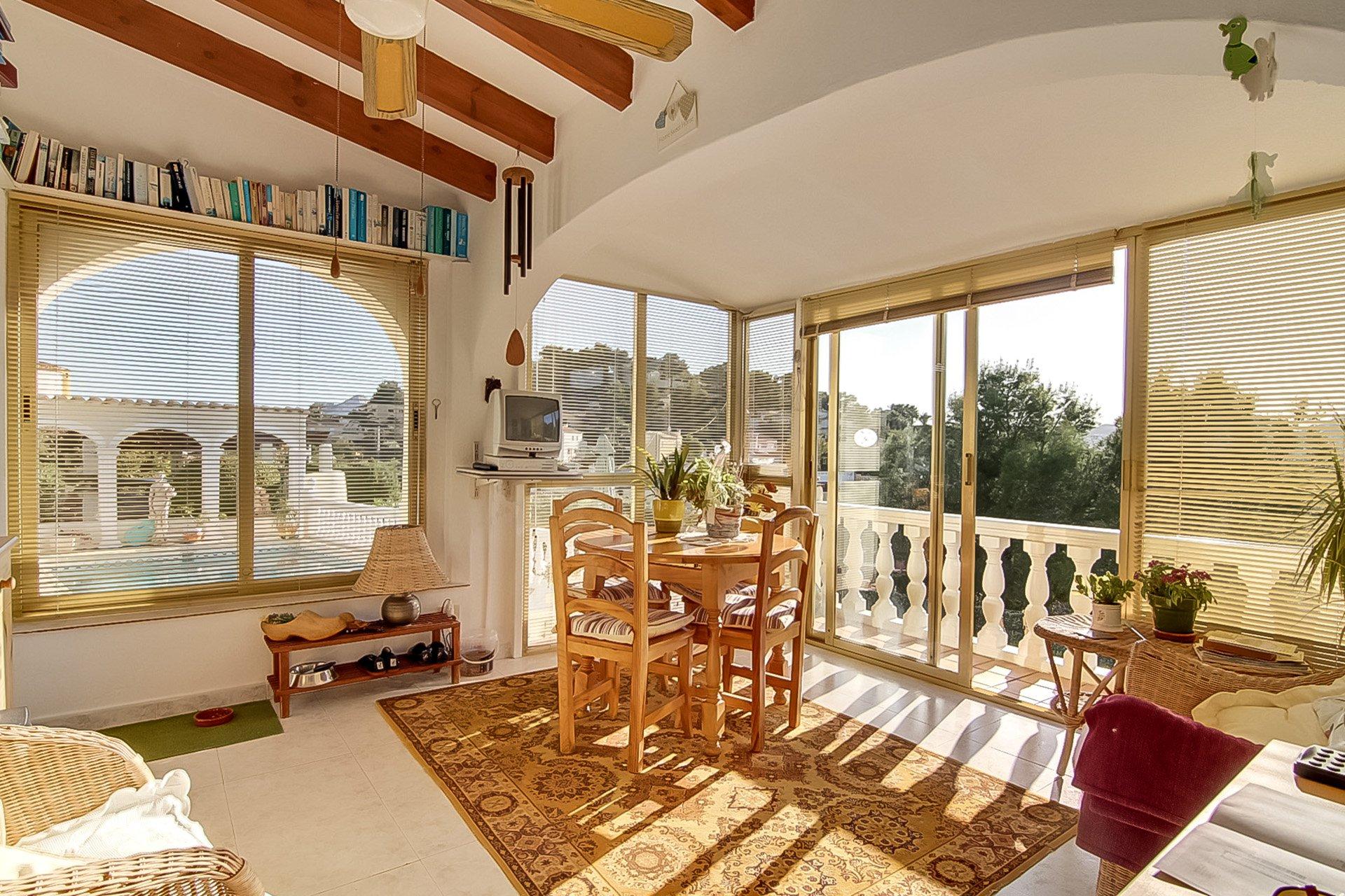 Villa de 3 chambres sur 1 niveau avec vue dégagée