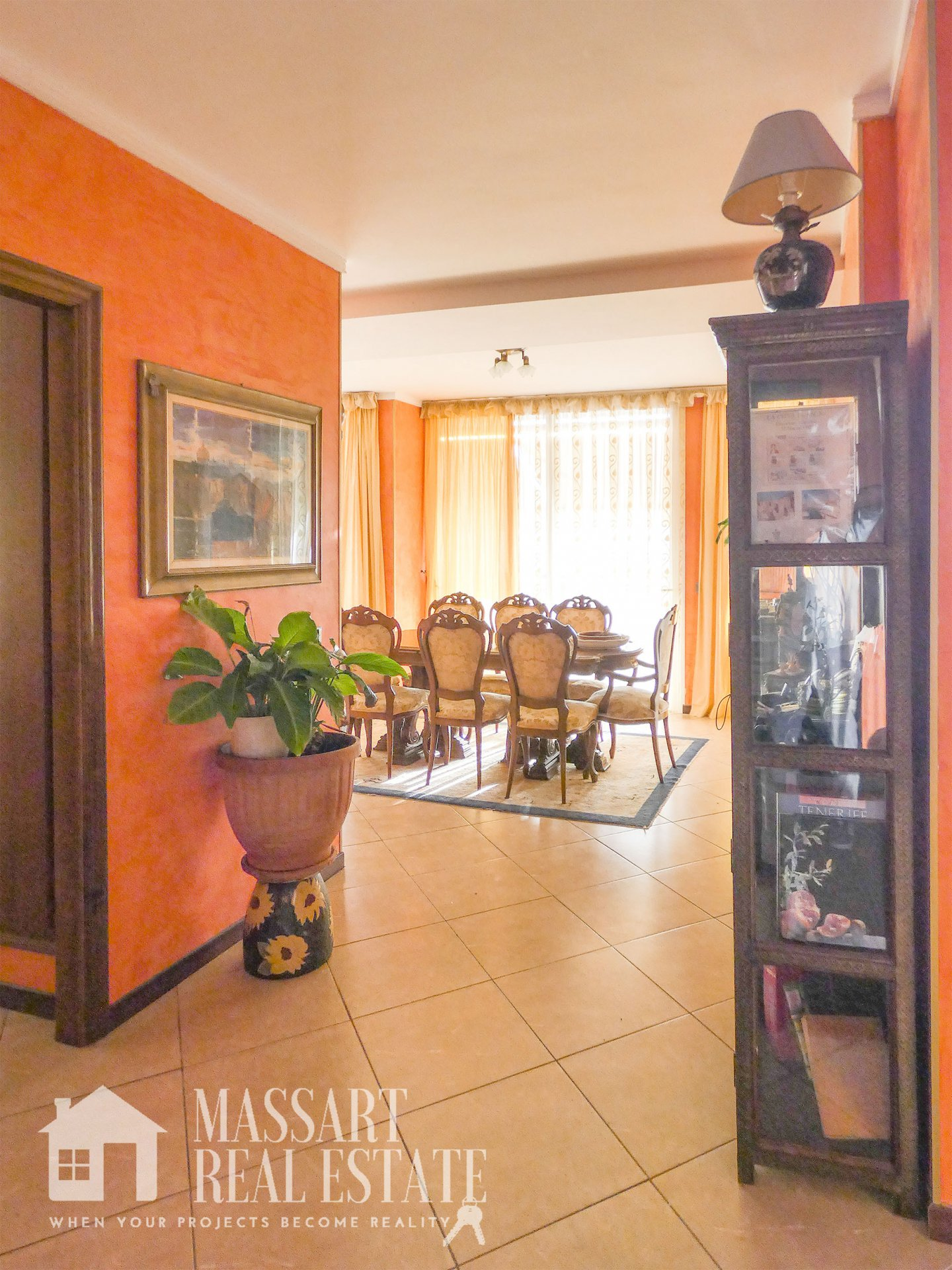 For sale luxury house in San Eugenio alto with sea view