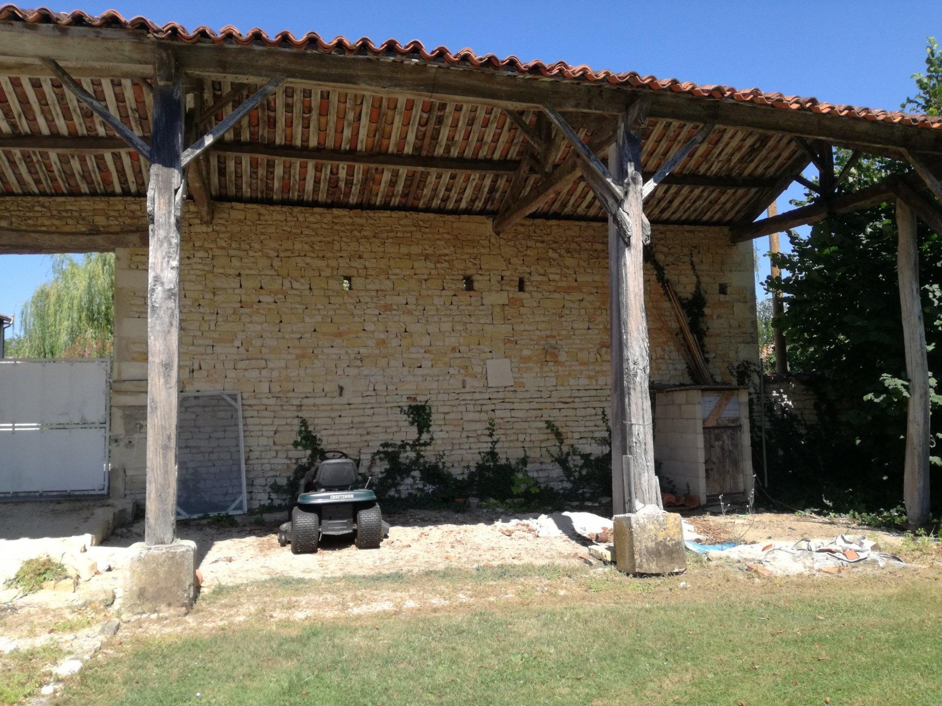 Old House - Near Aigre