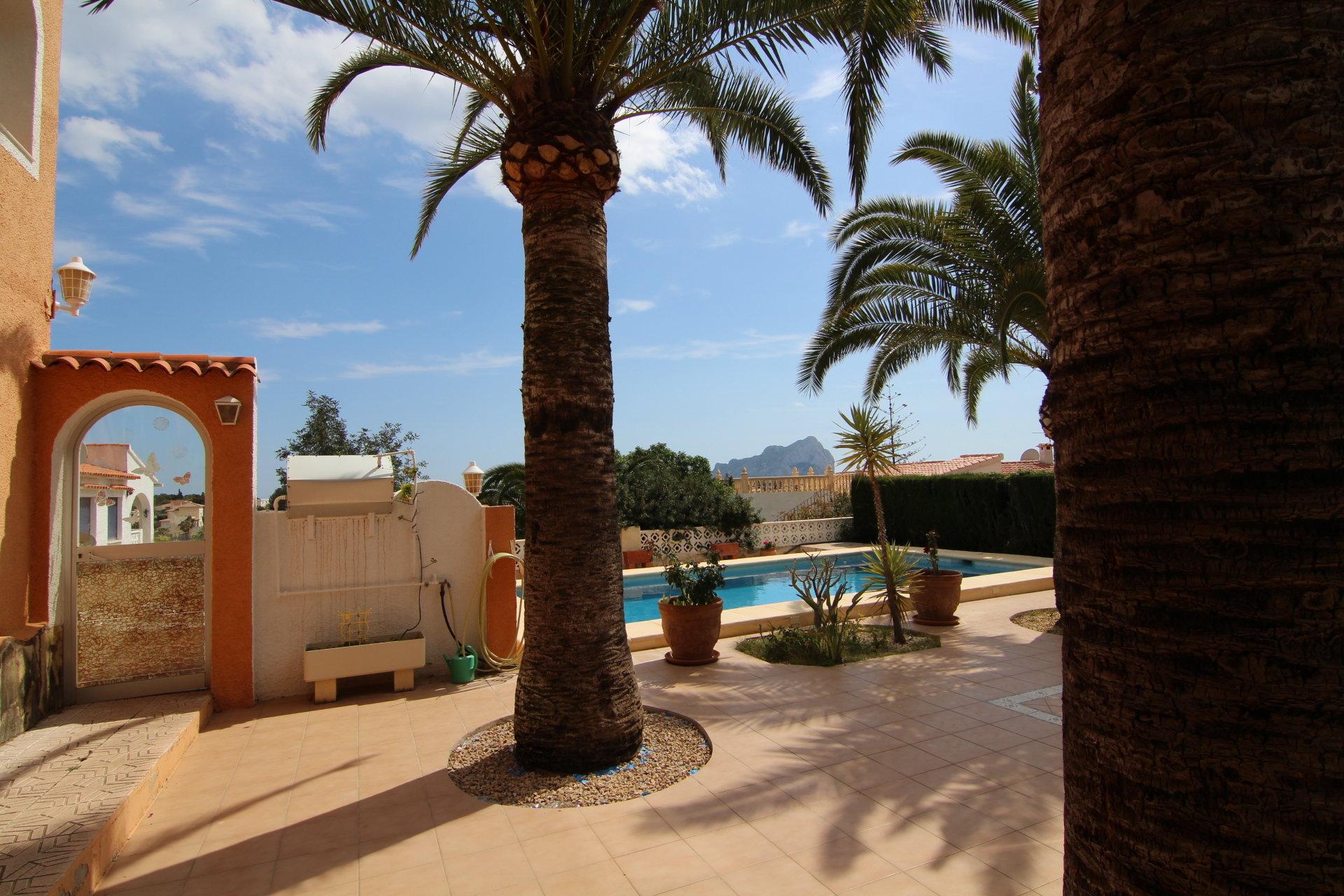 Villa with beautiful sea view