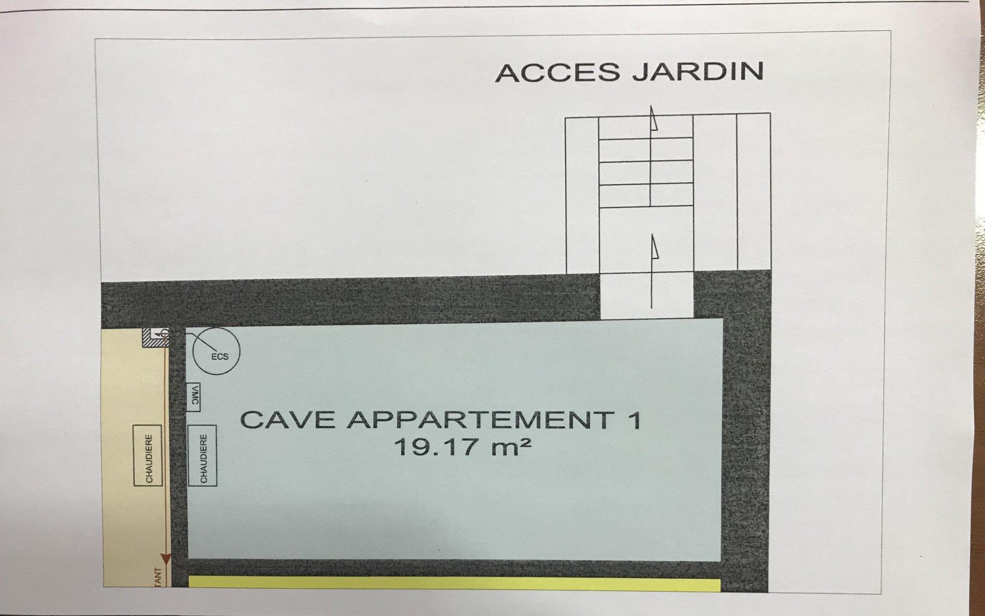 Appt T4 Terrasse, cave, parking et Terrain