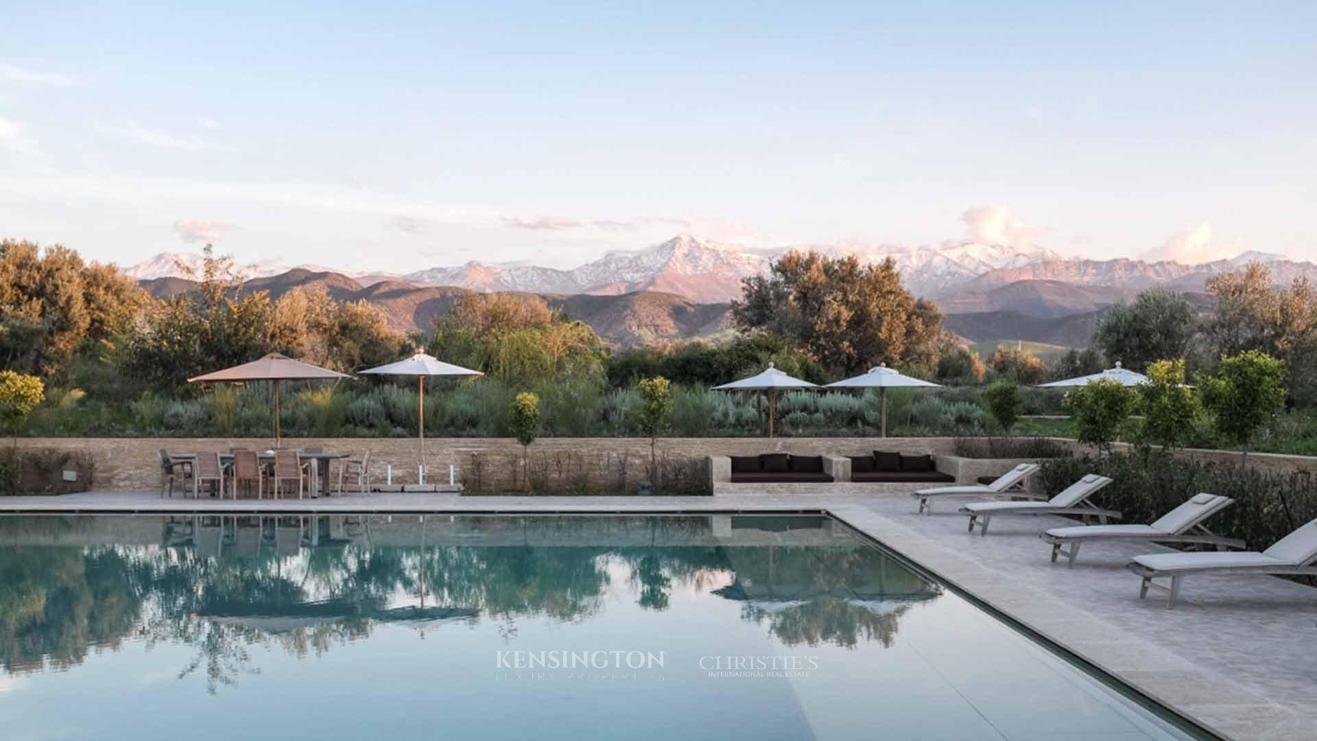 KPPM01050: Villa Azara Villa de luxe Marrakech Maroc