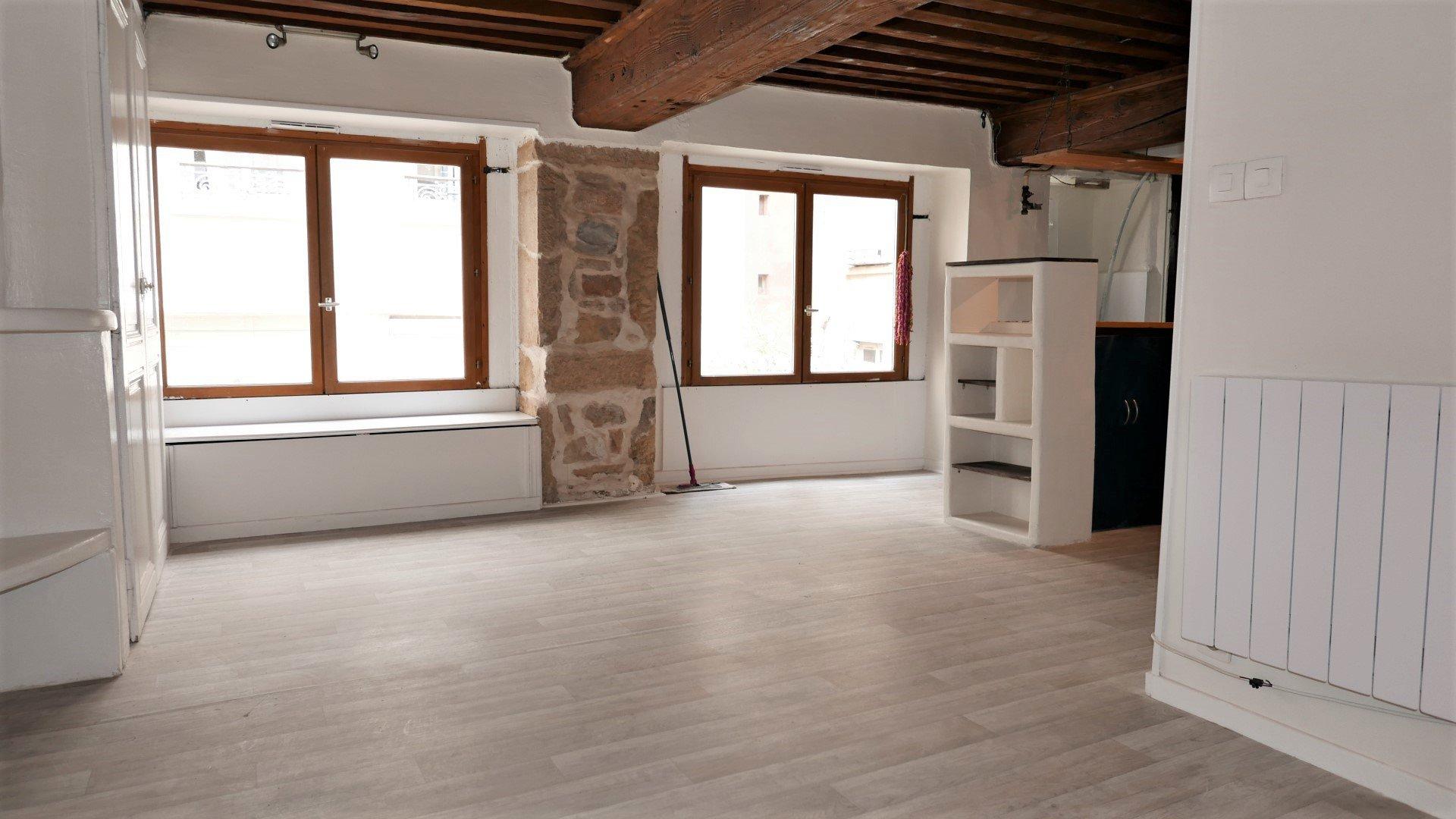Location Appartement Surface de 37.5 m², 2 pièces, Lyon 1er (69001)