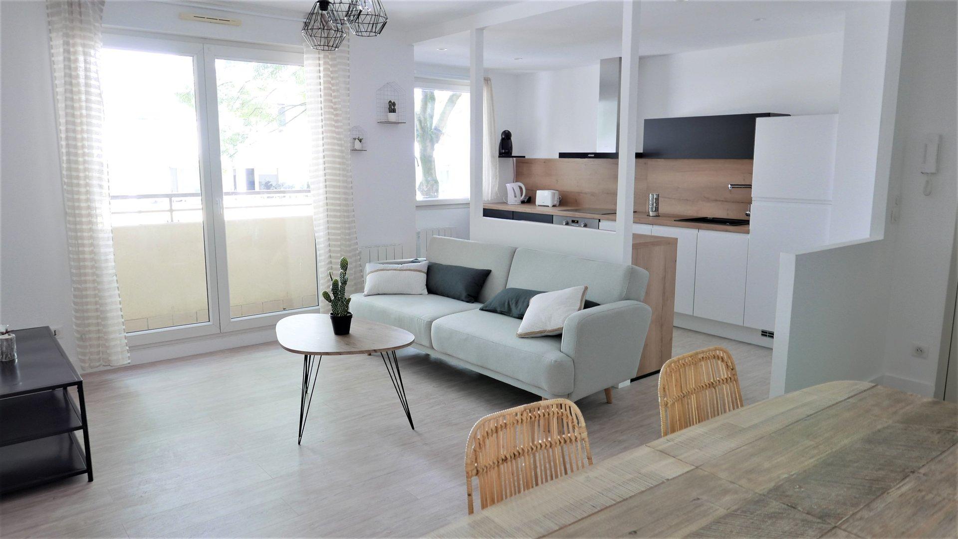 Location Appartement Surface de 45.54 m², 2 pièces, Lyon 3ème (69003)