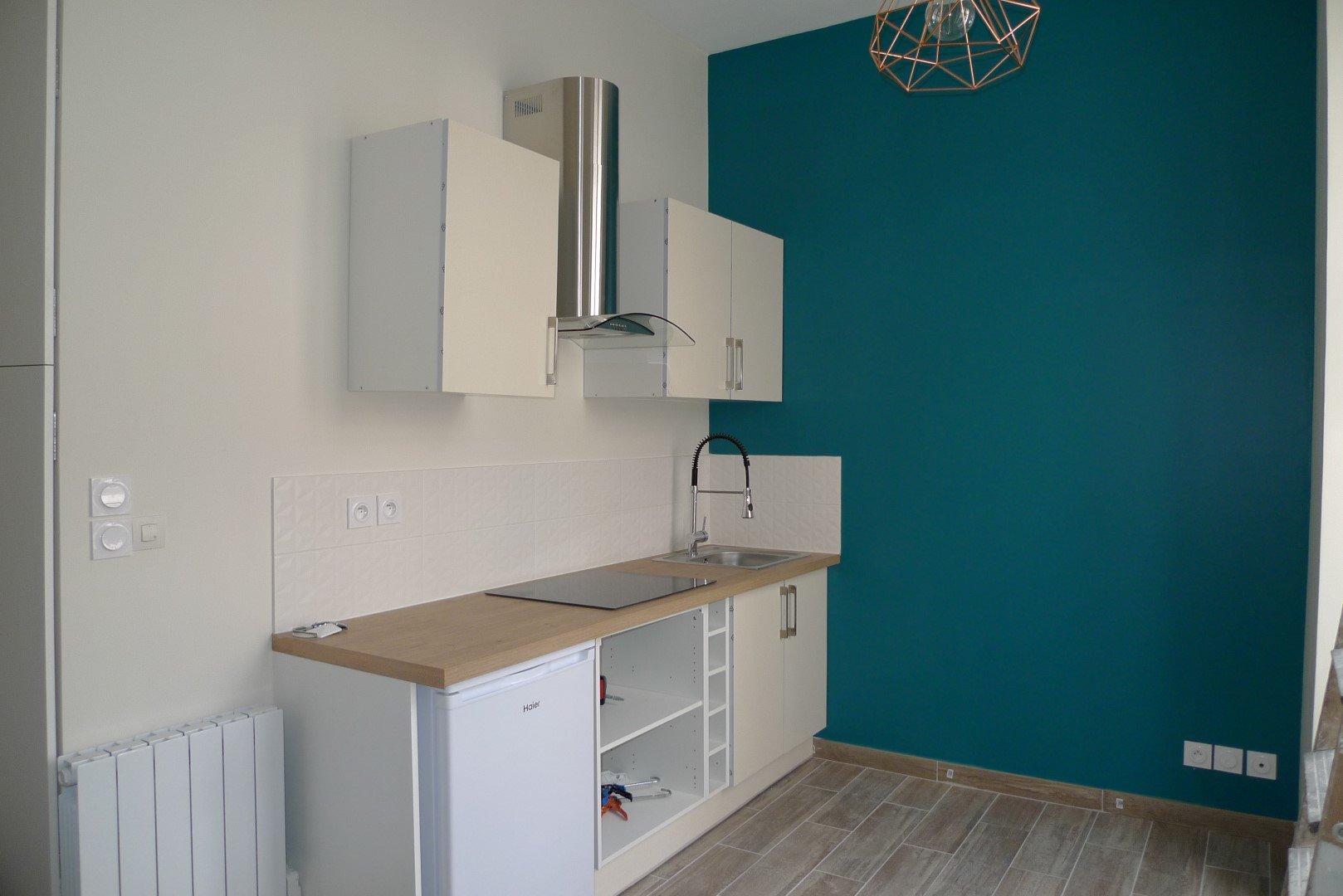 Location Appartement Surface de 19.27 m², 1 pièce, Lyon 7ème (69007)