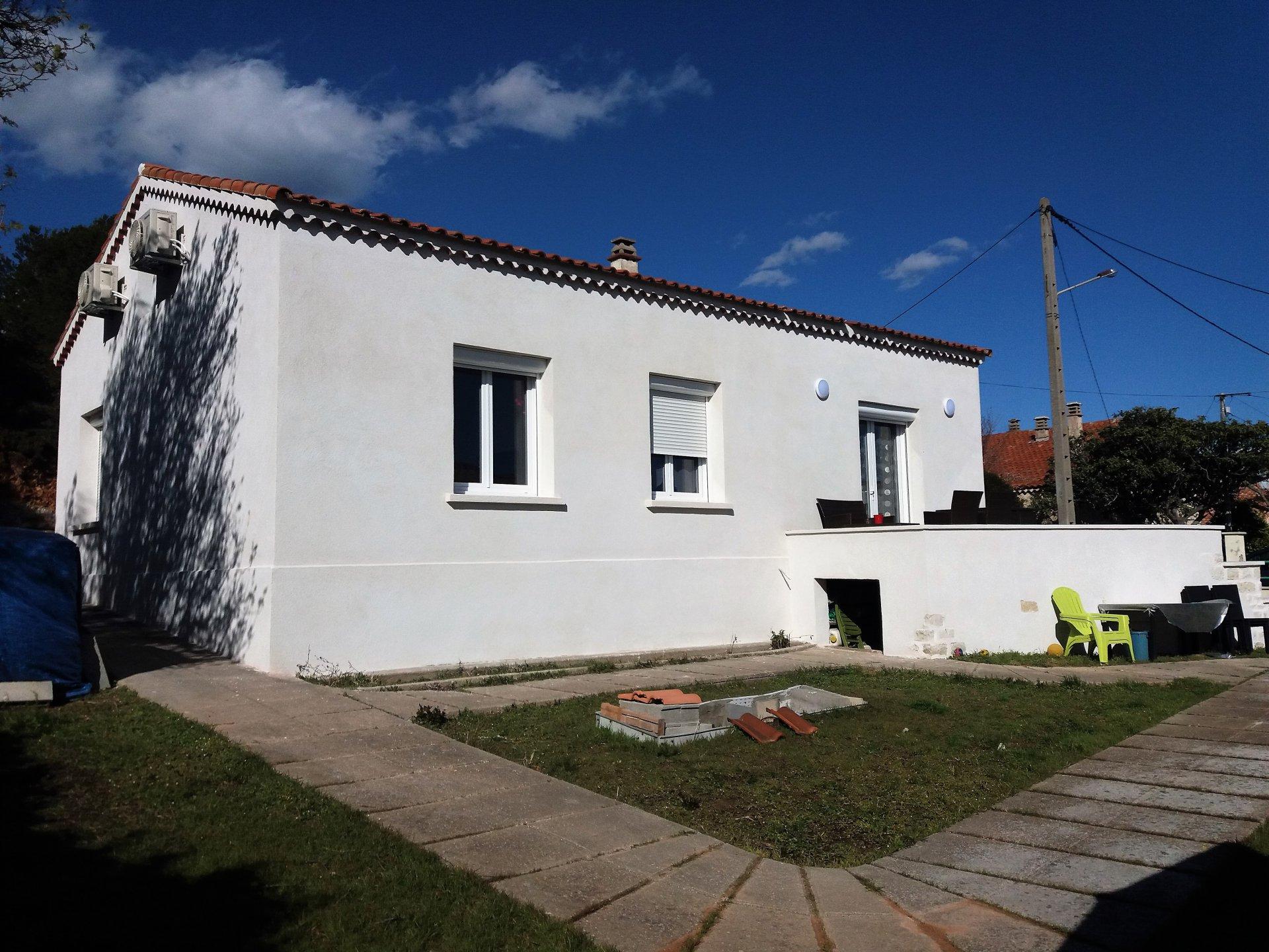 MAISON  plain-pied T4-garage sur 513 M² Terrain