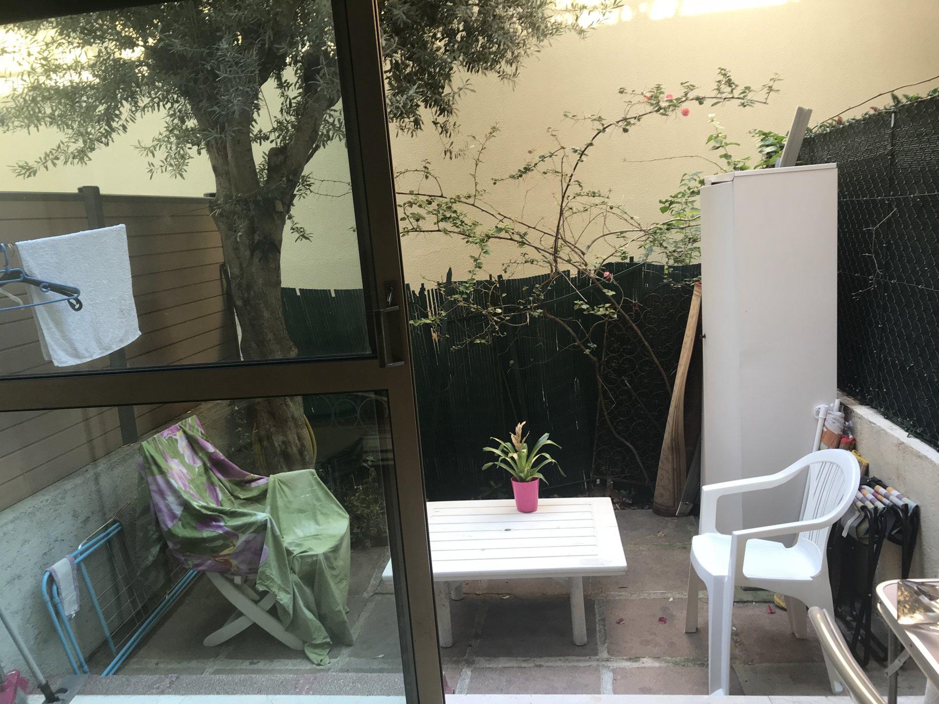 Studio, Nice Piétonne, terrasse