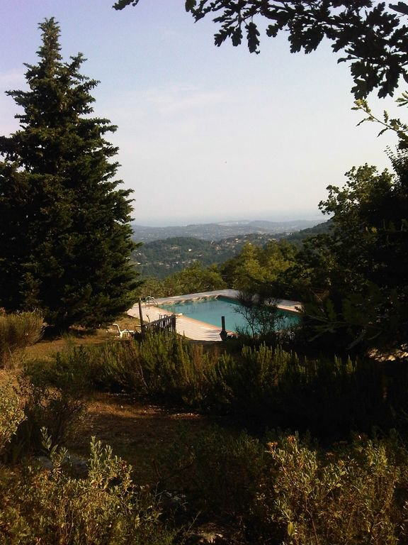 On the Riviera, luxury property, luxury Provencal Bergerie, sea view, on the heights, swimming pool, gr