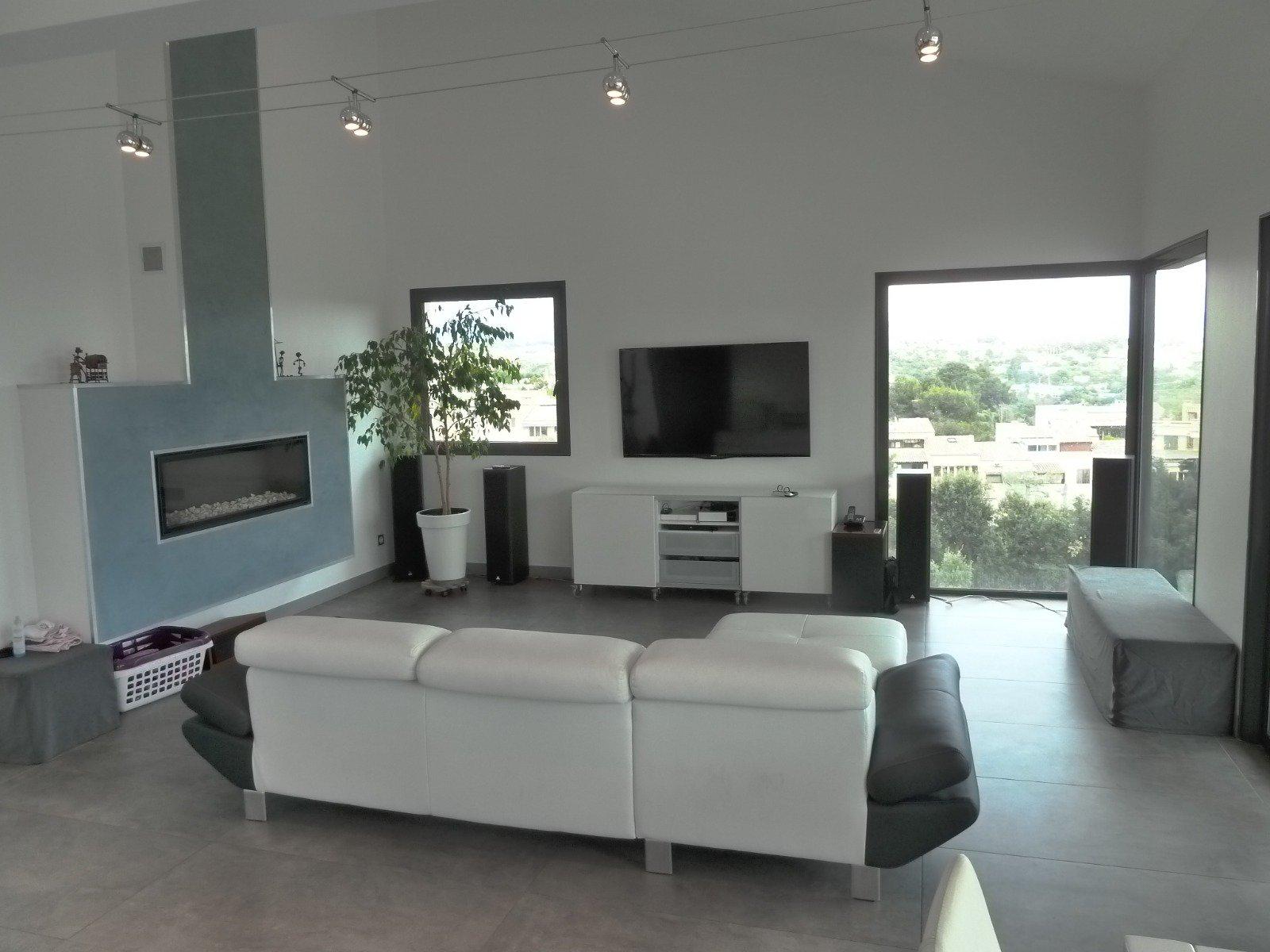 Sulla Costa Azzurra Villa terrazza Appartamento sul tetto con giardino e piscina privata, ascensore privato, vista
