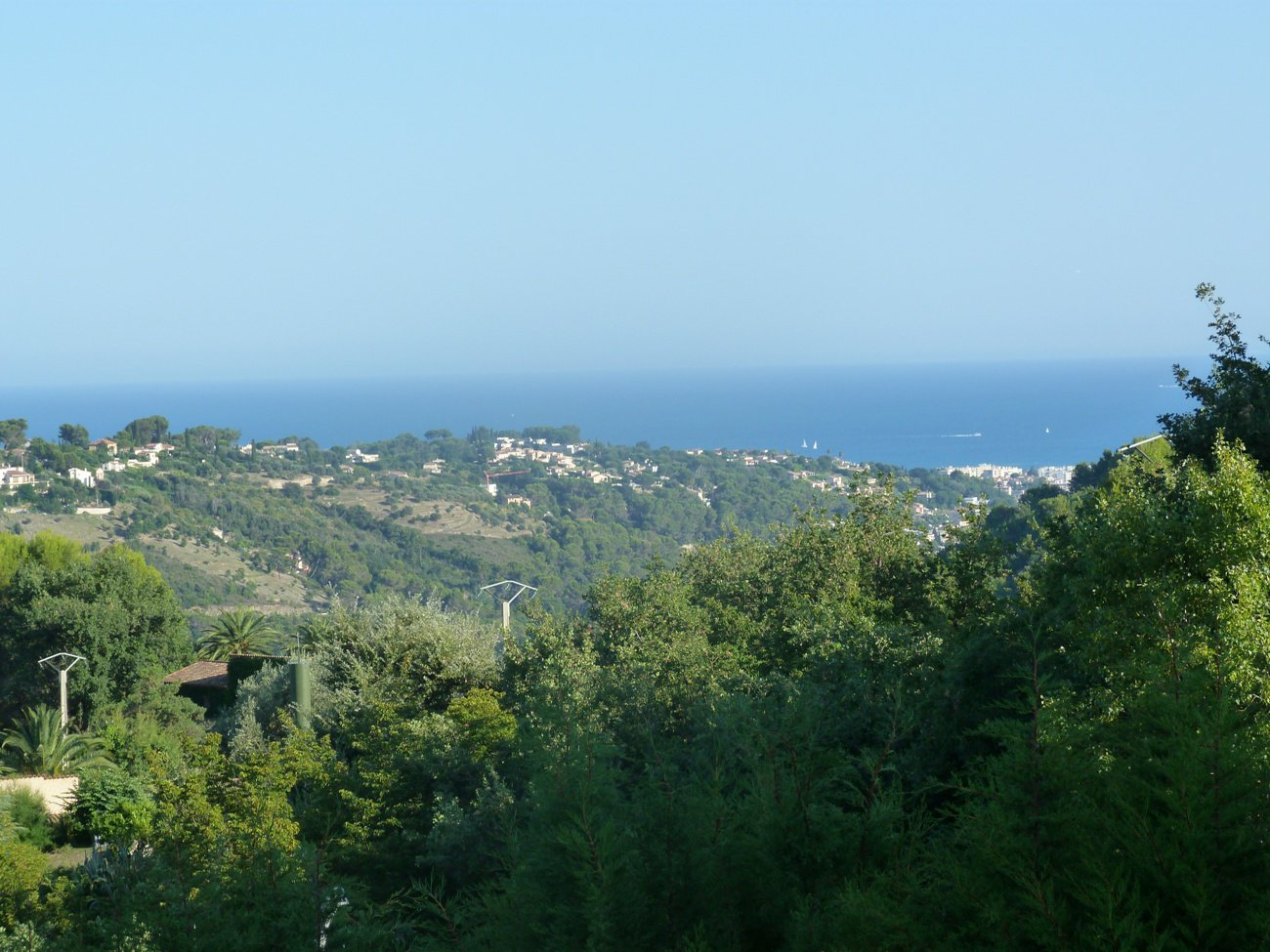 Villa costa, sea view, limit Saint Paul de Vence, 220m2, 7 rooms, swimming pools