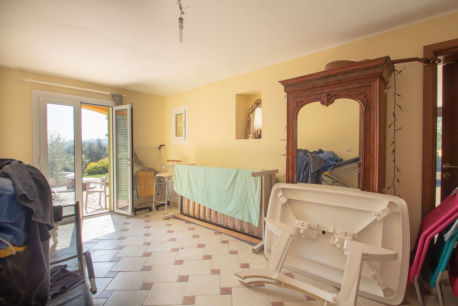 Villa Azure vote, Vence, sea view, quiet garden, swimming pool, 250m with 8 bedrooms, possibility 2 families