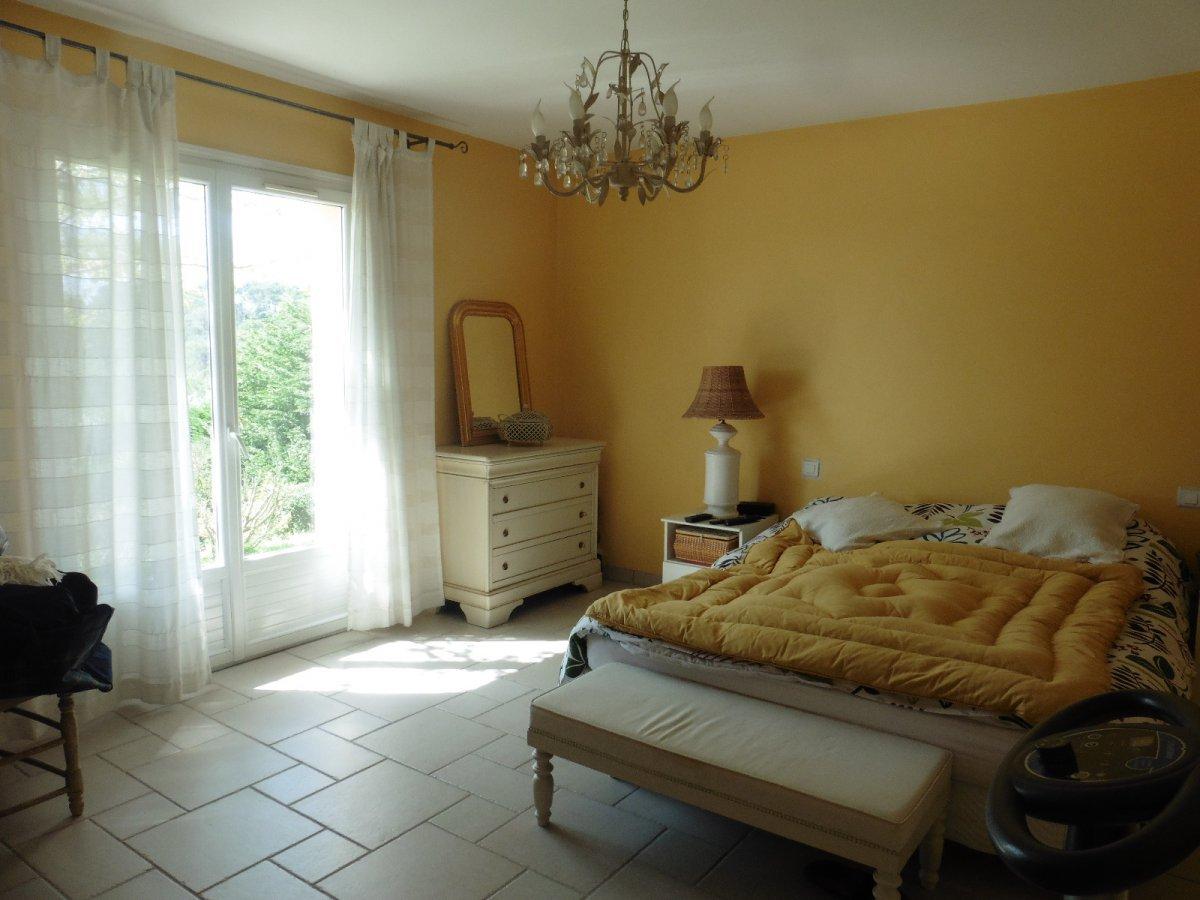 Sur la cote d azur,villa vue mer, piscine, proche Valbonne et Sophia Antipolis.