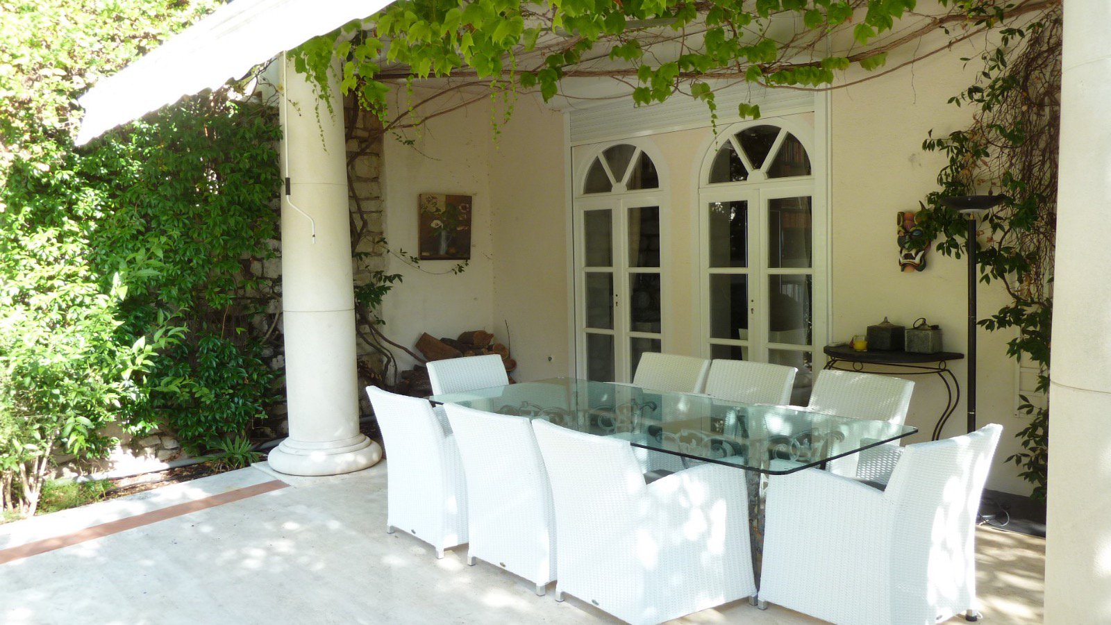 Villa Panoramic sea, quiet, colonial style, 7 rooms, large lot, pool, residential area