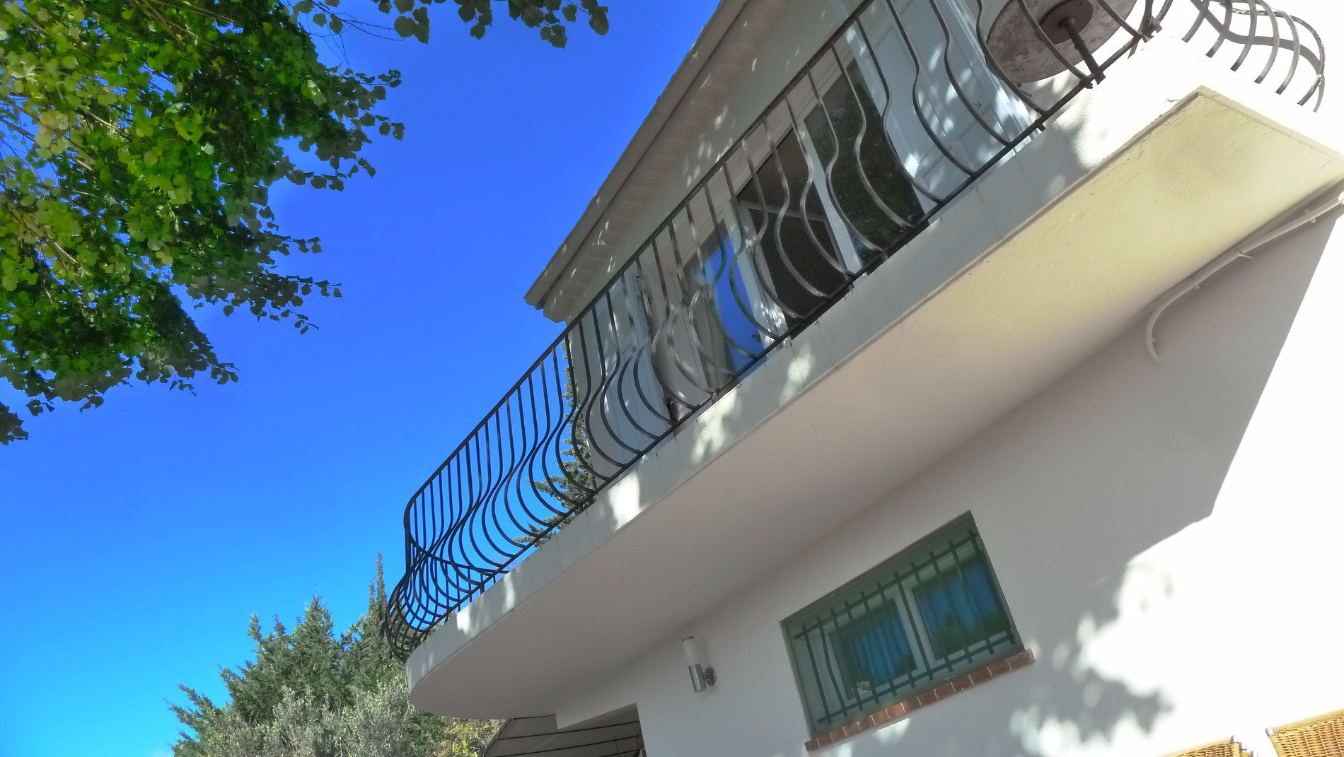 ON THE FRENCH RIVIERA, SEA VIEW, 4 BEDROOMS TERRACE, BIG GROUND POOL