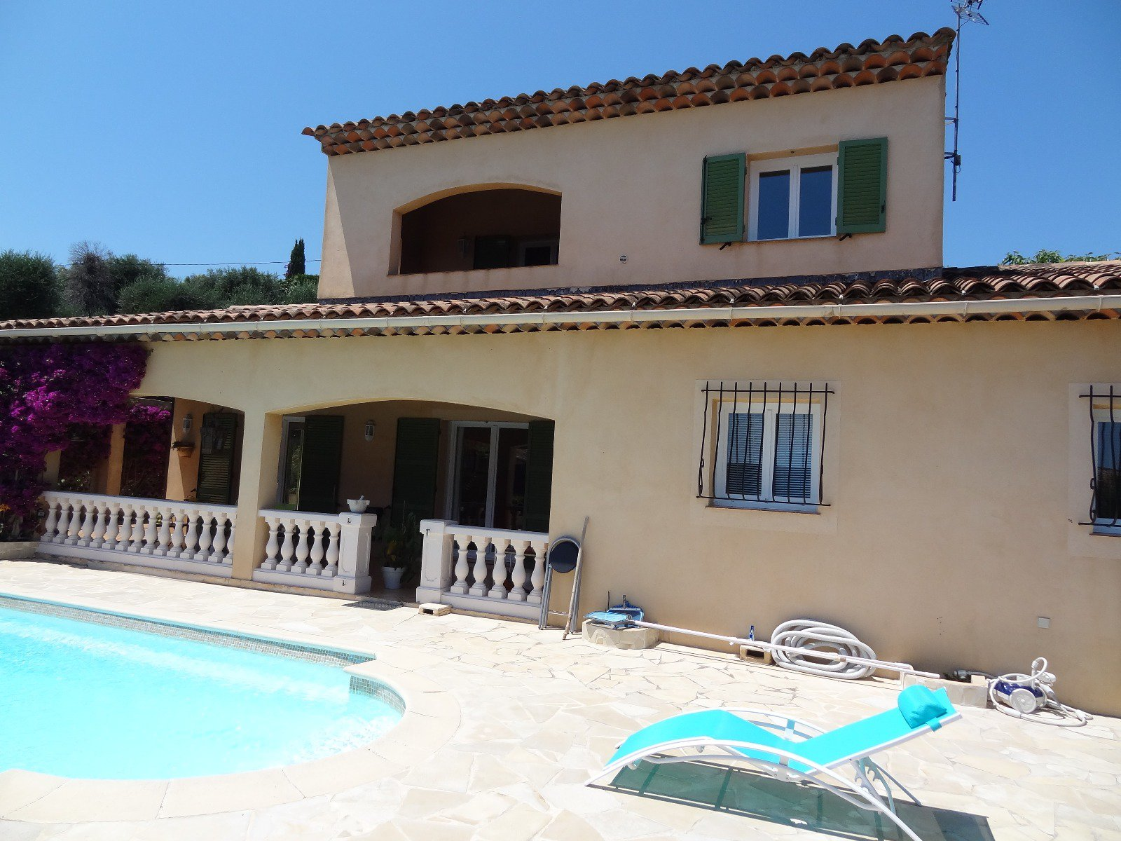 House Sea View, Pool, Near Sea, Biot Village and Sophia Antipolis