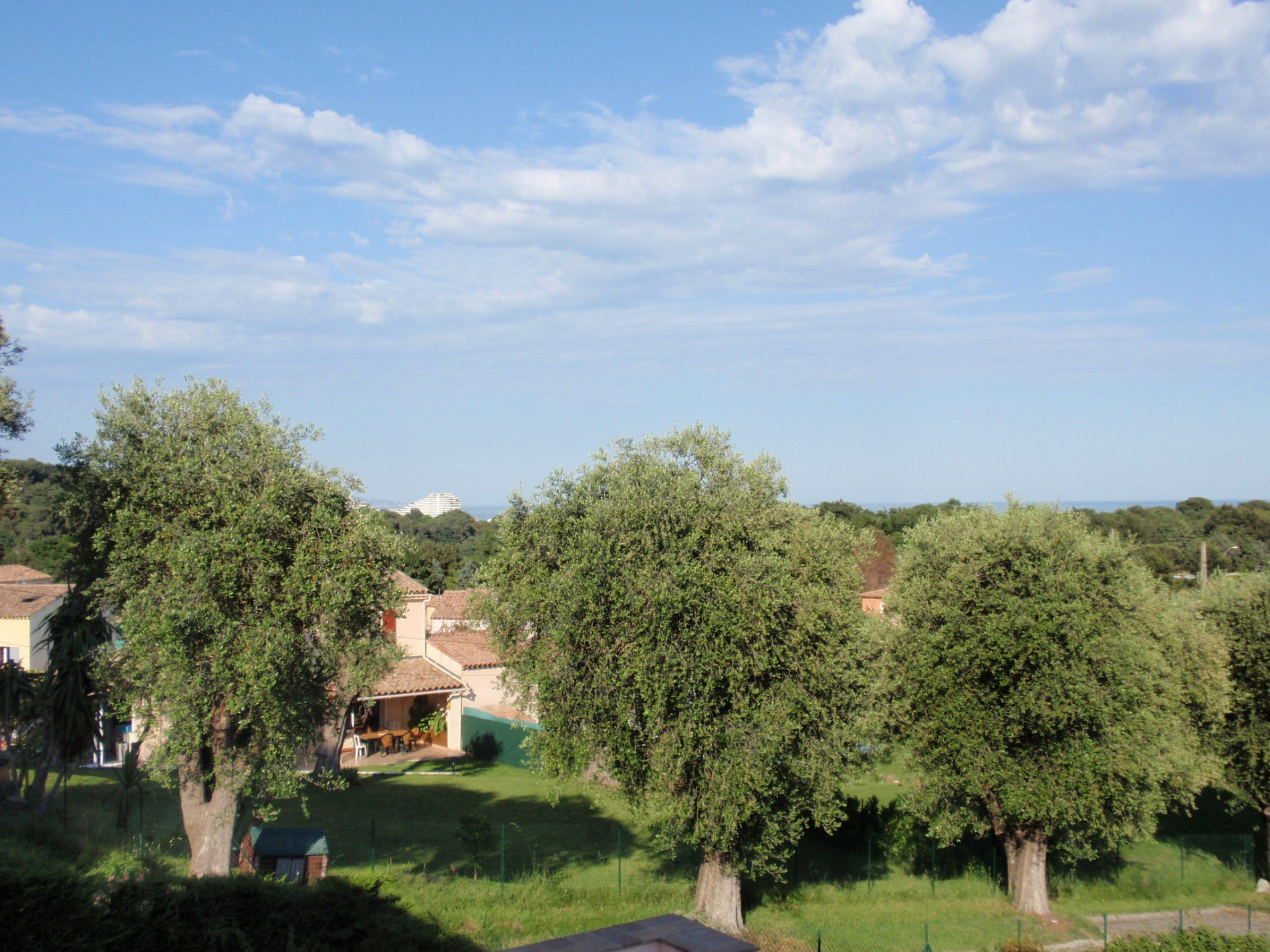 osta azzurra, Villeneuve Loubet, appartamento di 104 metri, vista mare,