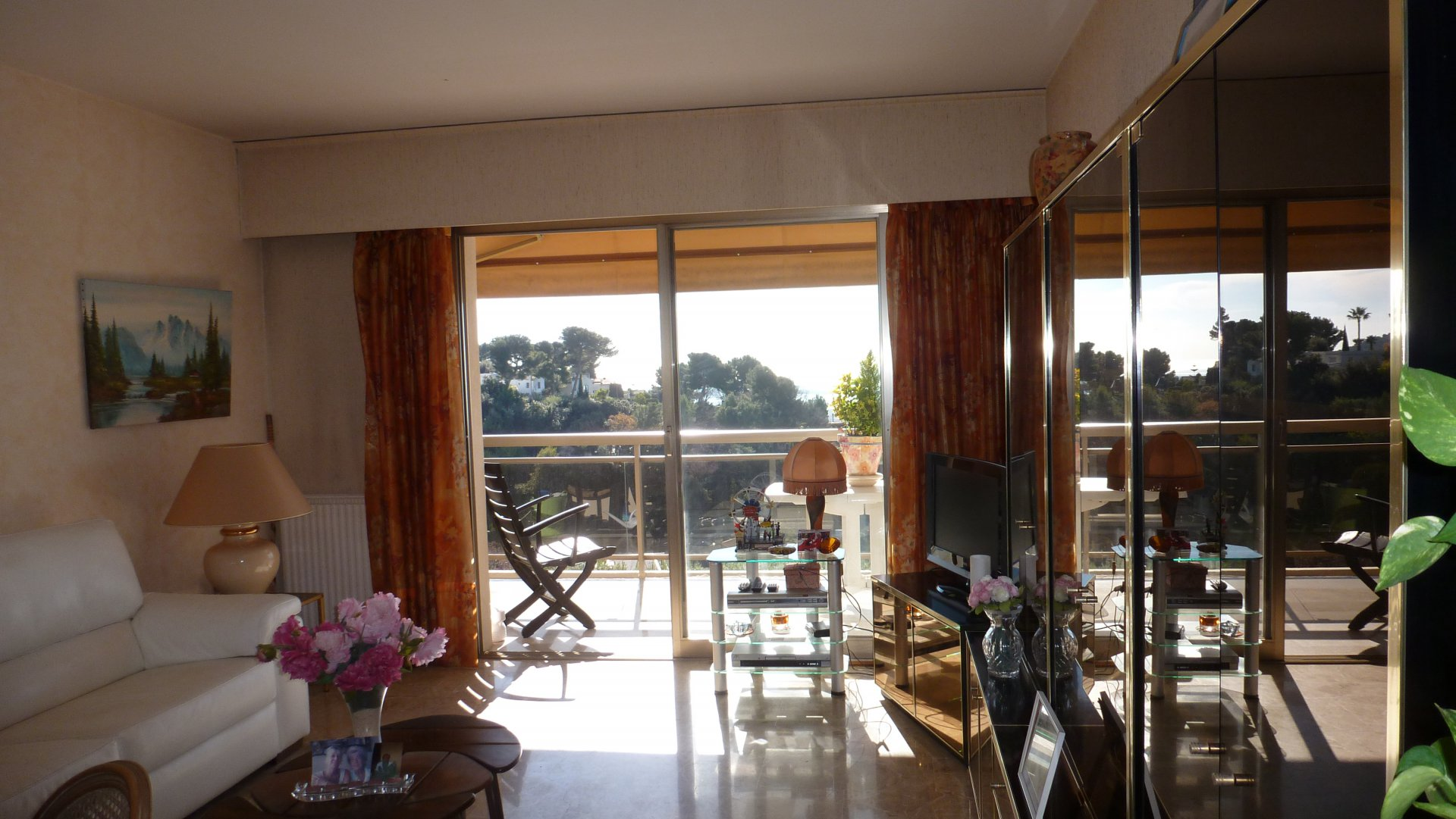 LE CANNET 2/3P 61M² + 10M² TER PANORAMIC SEA VIEW
