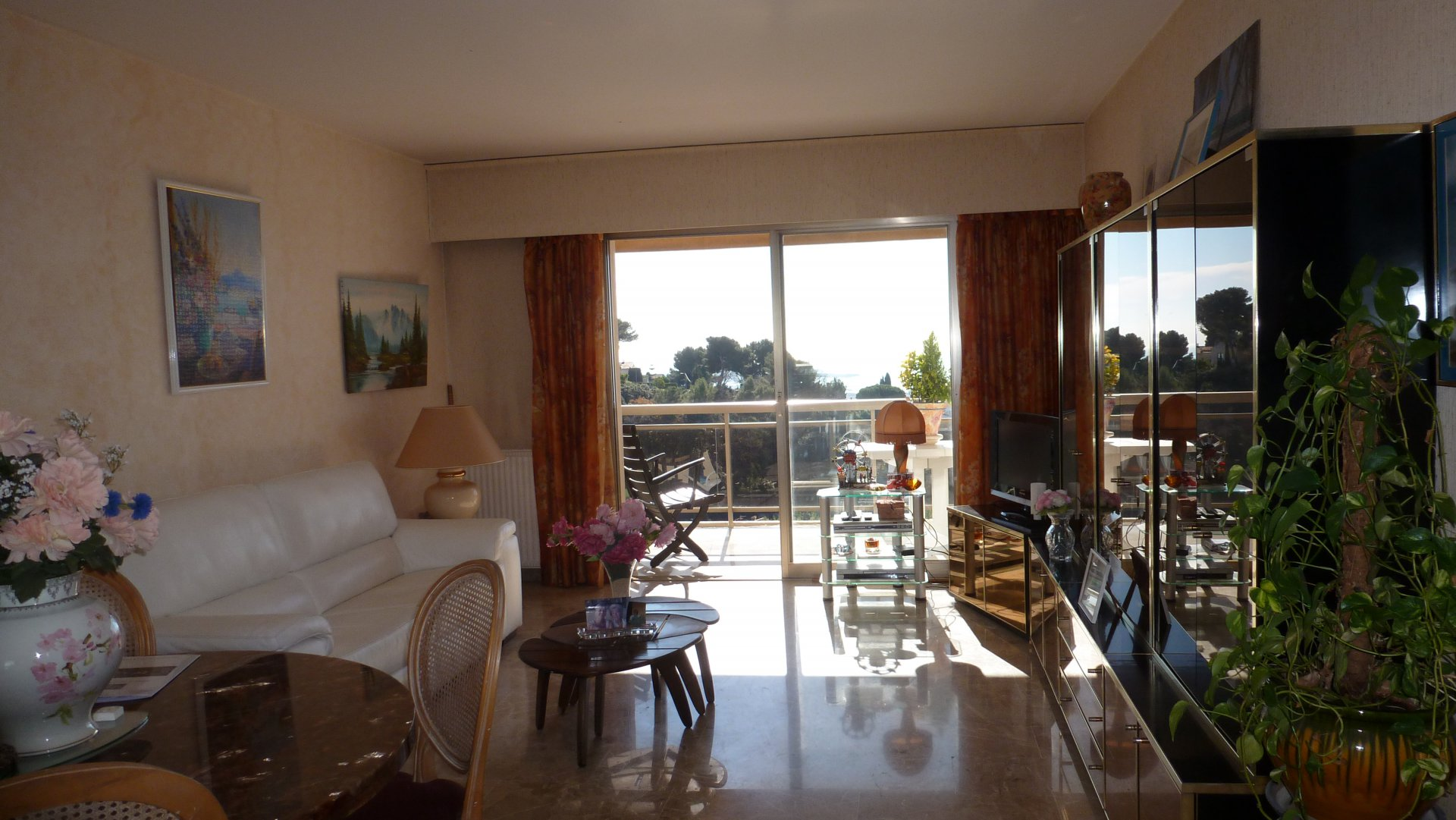 LE CANNET 2P 61M² + 10M² TER PANORAMIC SEA VIEW