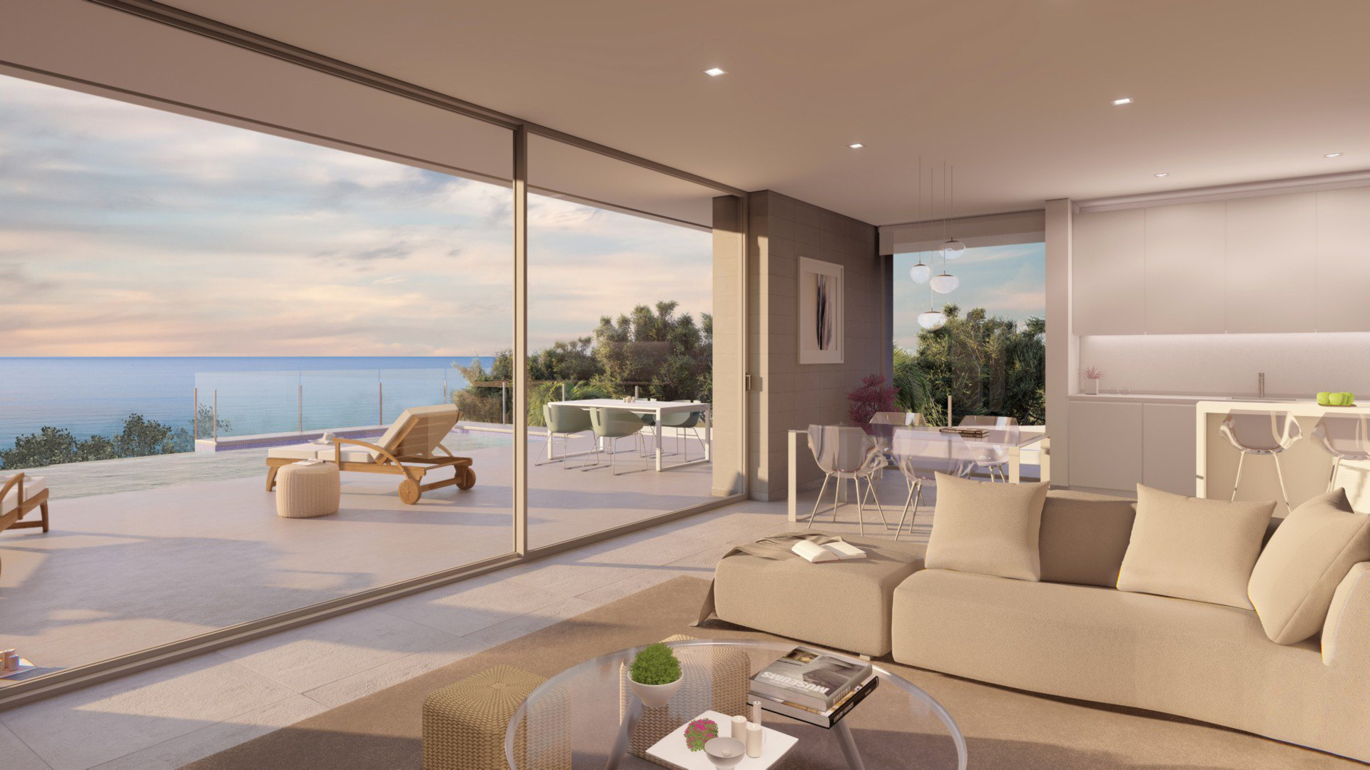 Villa design moderne située à Benitachell