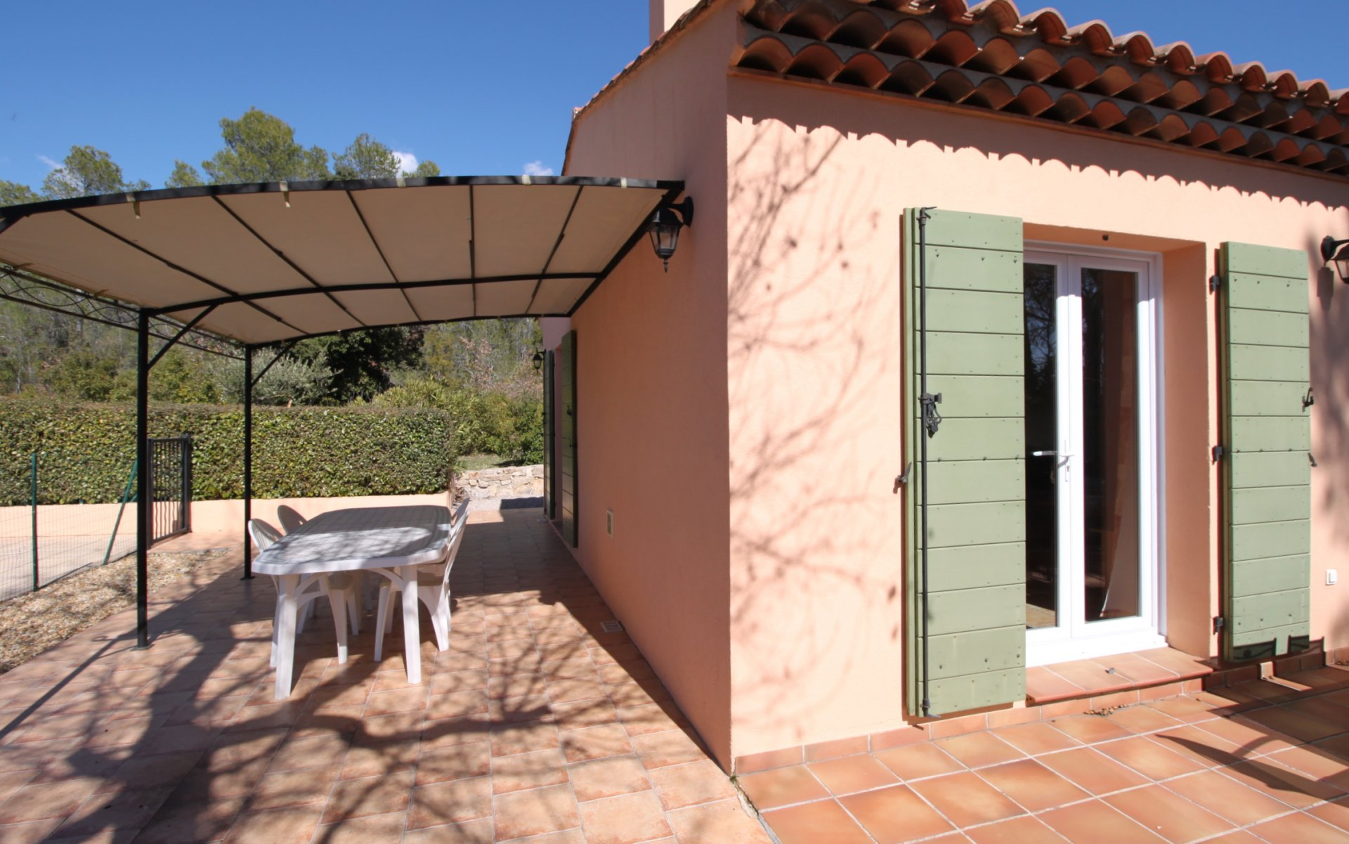 Very nice villa with pool in Cotignac