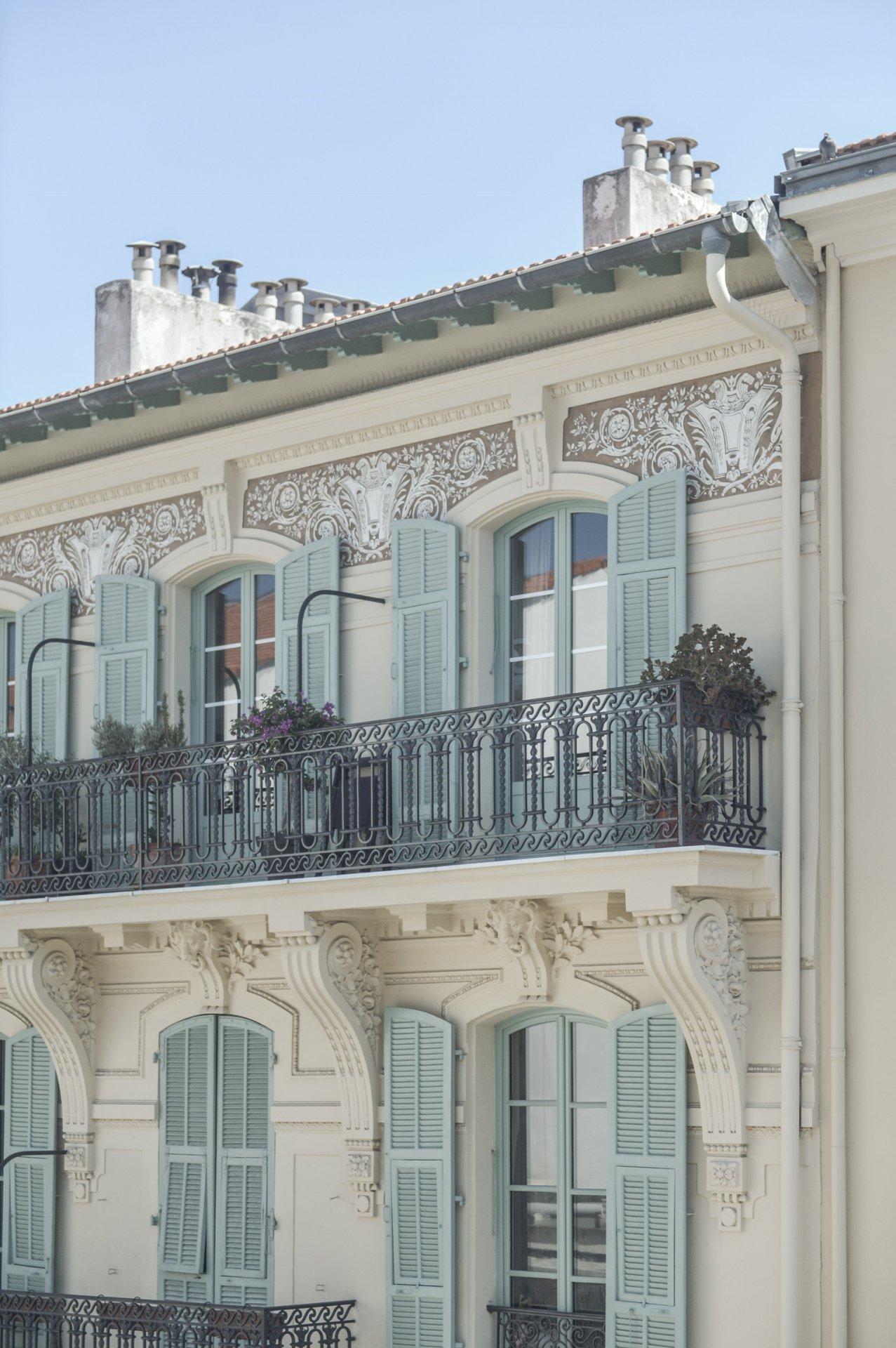 Nice Wilson , 2 Pièces rue Gioffredo