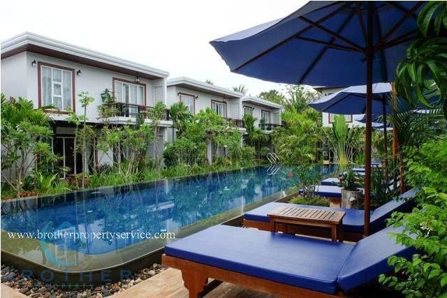 Luxury 2-bedrooms Tropical Western style Apartment for rent in Siem Reap