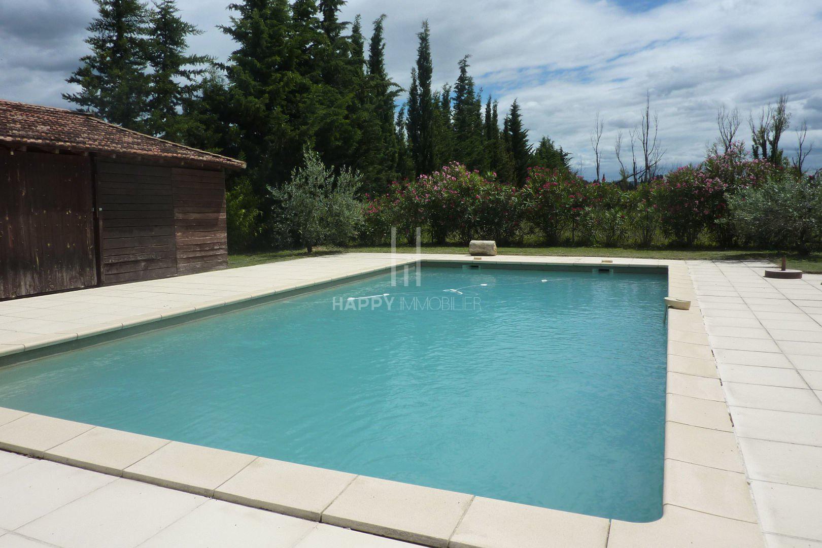 Mas de charme avec piscine et vue Alpilles à Maillane