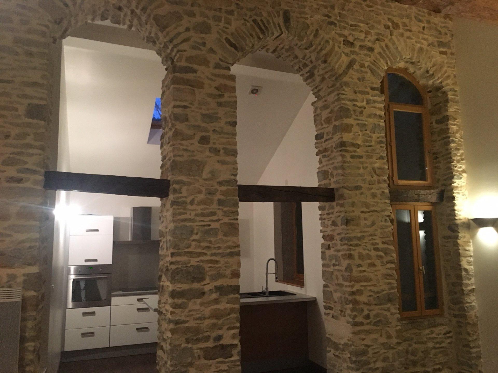 Salle de bains Mur en briques