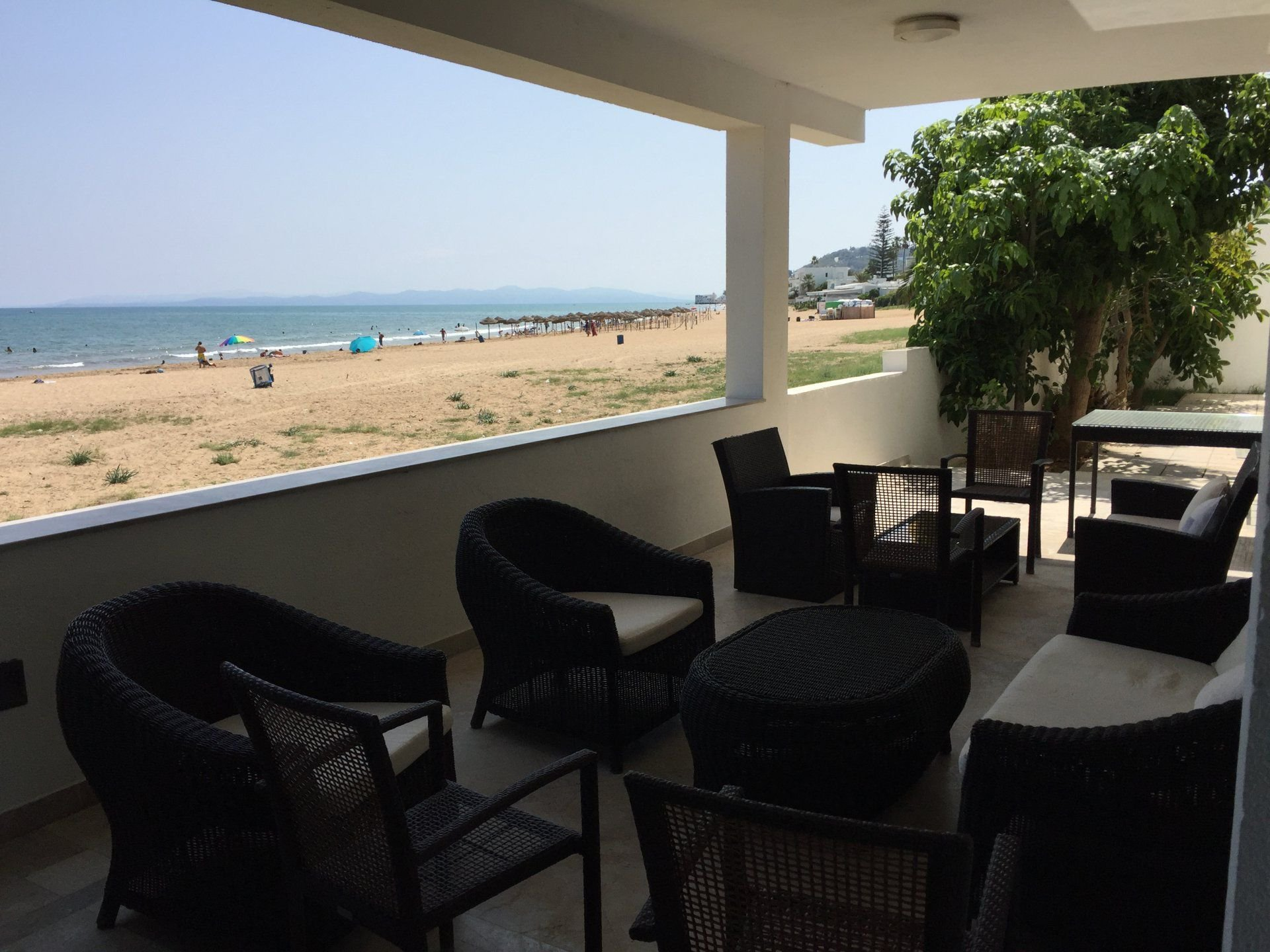 Sublime waterfront villa for rent at Marsa in Tunisia