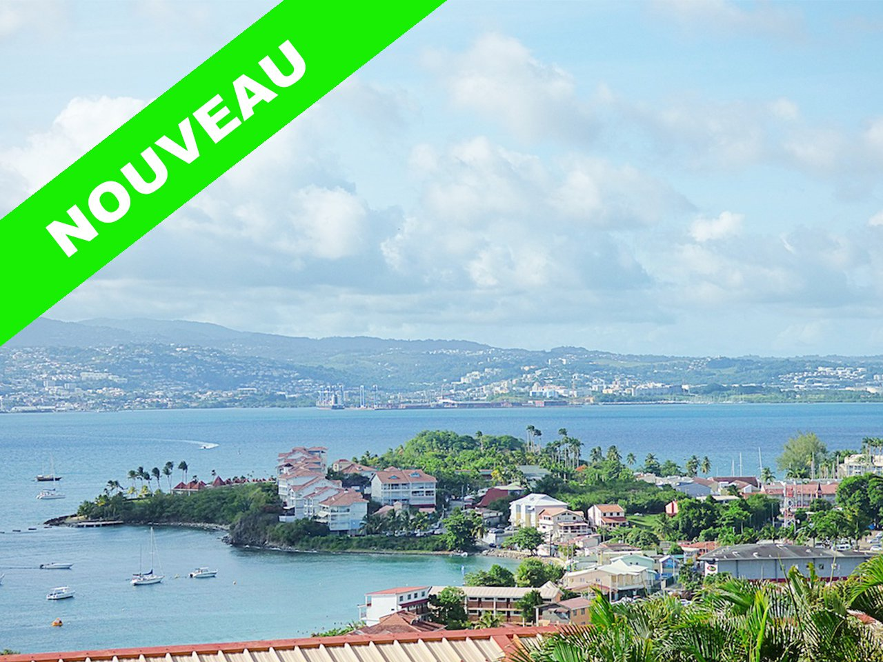 Beau T2 Meublé - Terrasse - Vue Mer - Parking - Charges Comprises