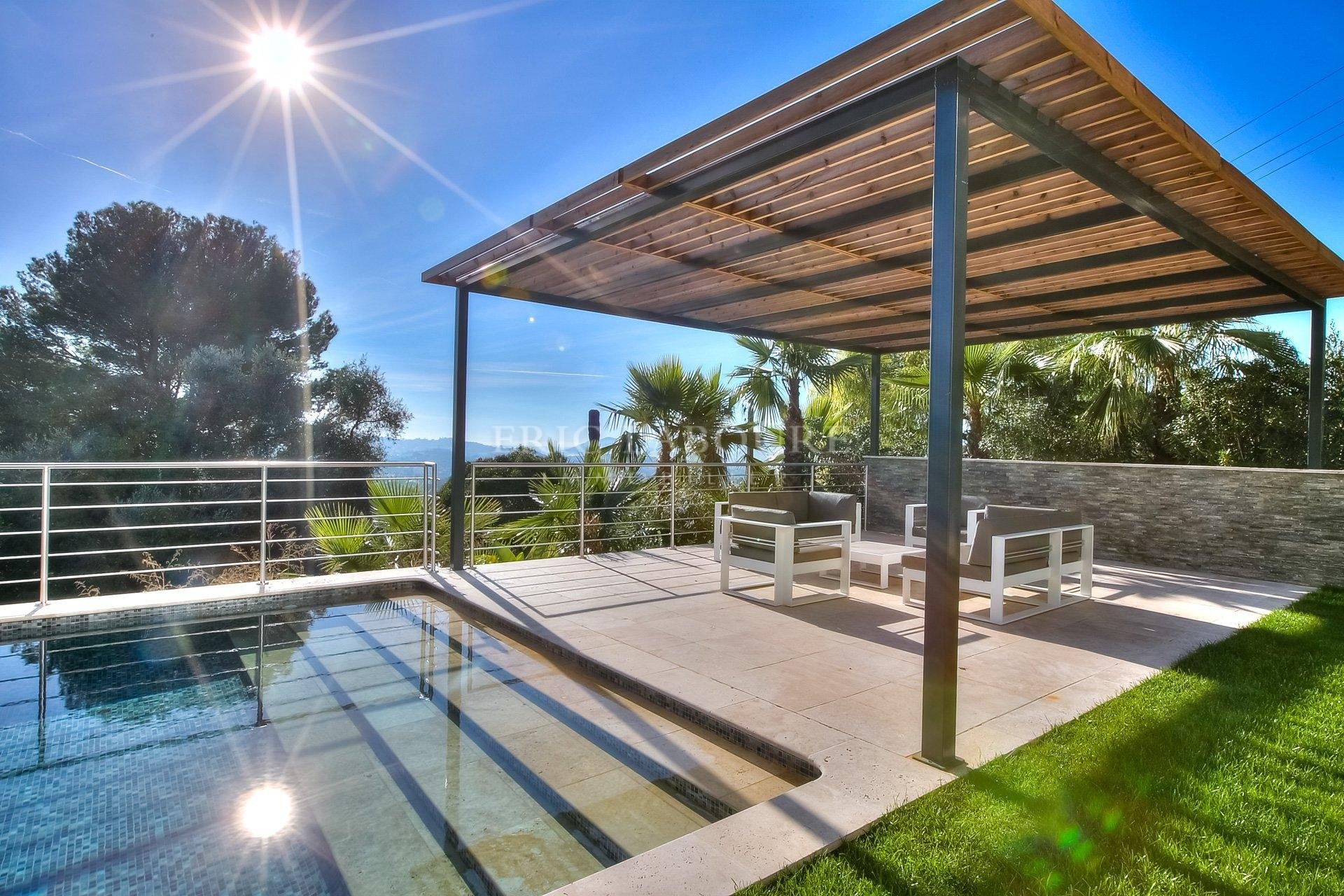 Sale Contemporary / modern Villa Mougins sea view