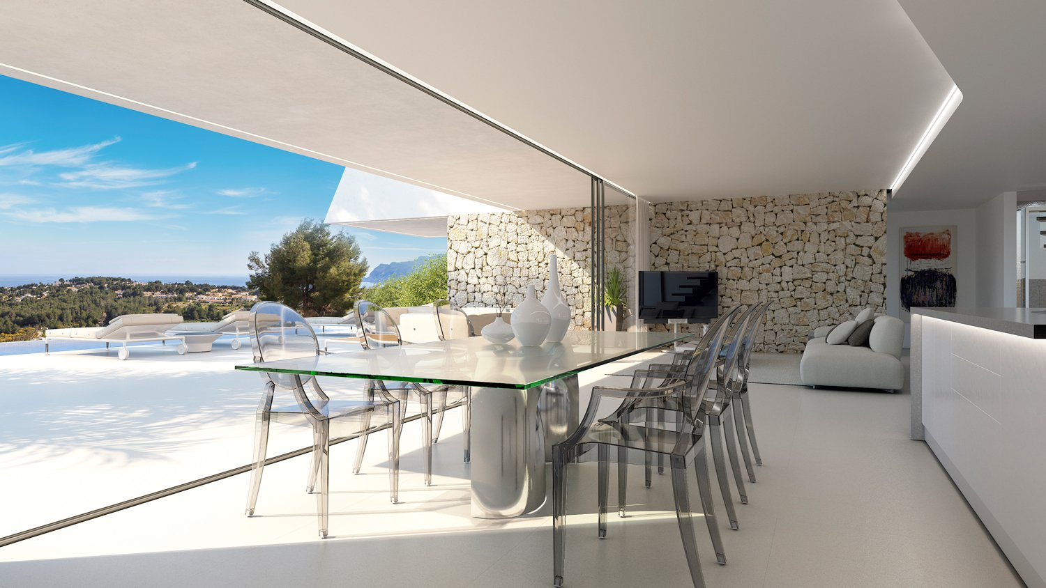 Very nice luxury villa in Moraira