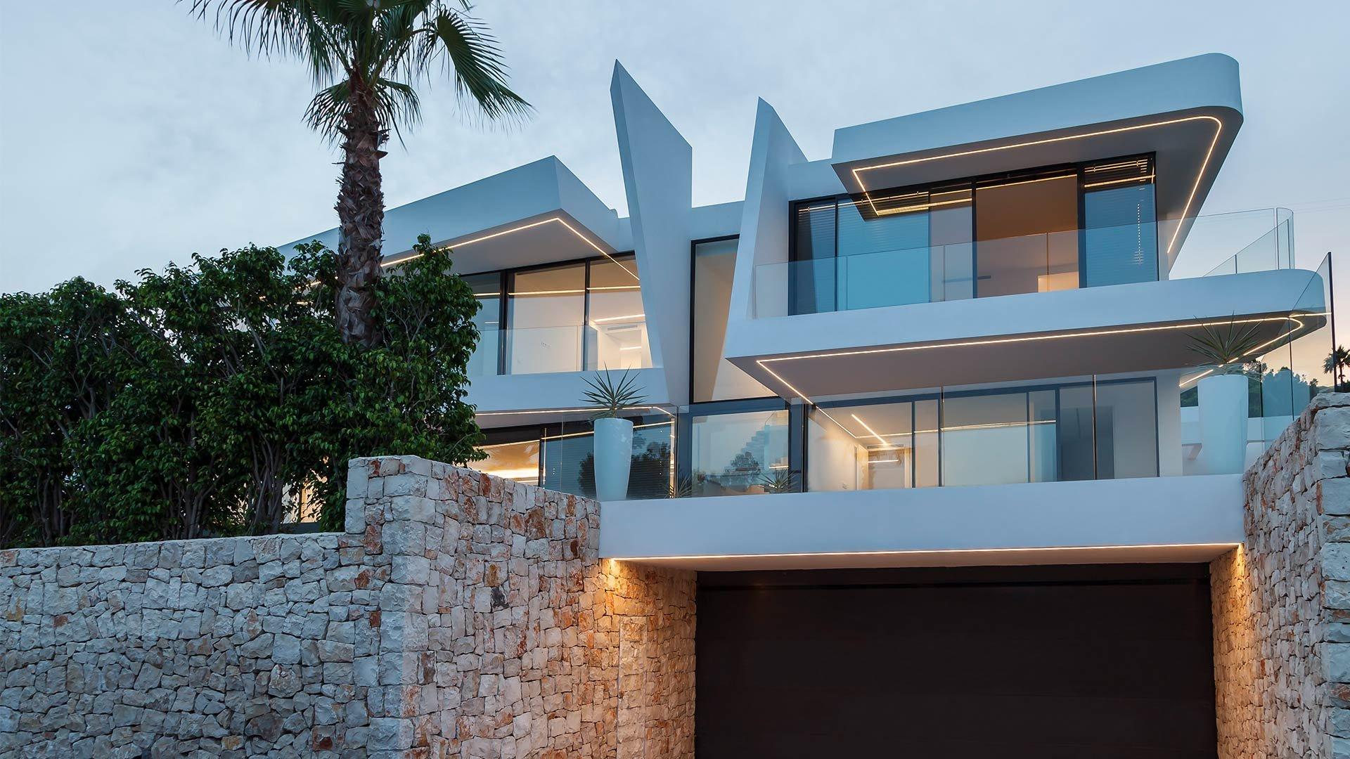 Nouvelle villa de luxe près de la mer à Moraira