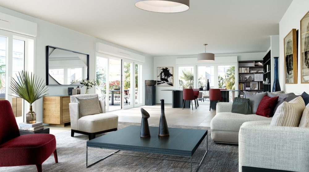New apartments in an exclusive residence on Pointe Croisette in Cannes