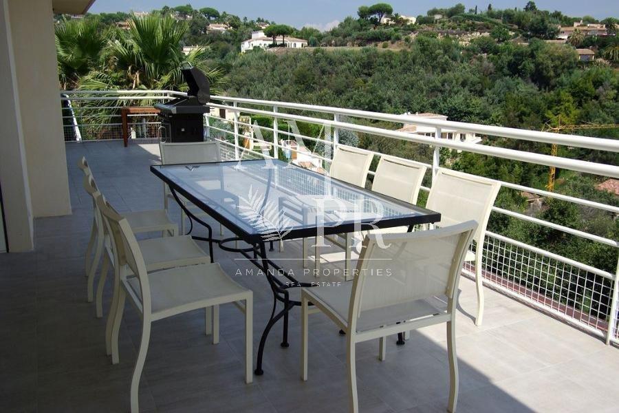 7 bedrooms villa Panoramic sea view - Golfe  Juan seasonal rental