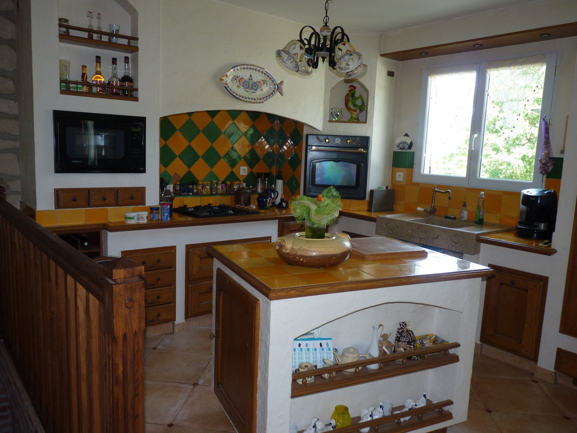 Halfway between Foix and Saint Girons, villa 150 m² with pool near Mas d'Azil