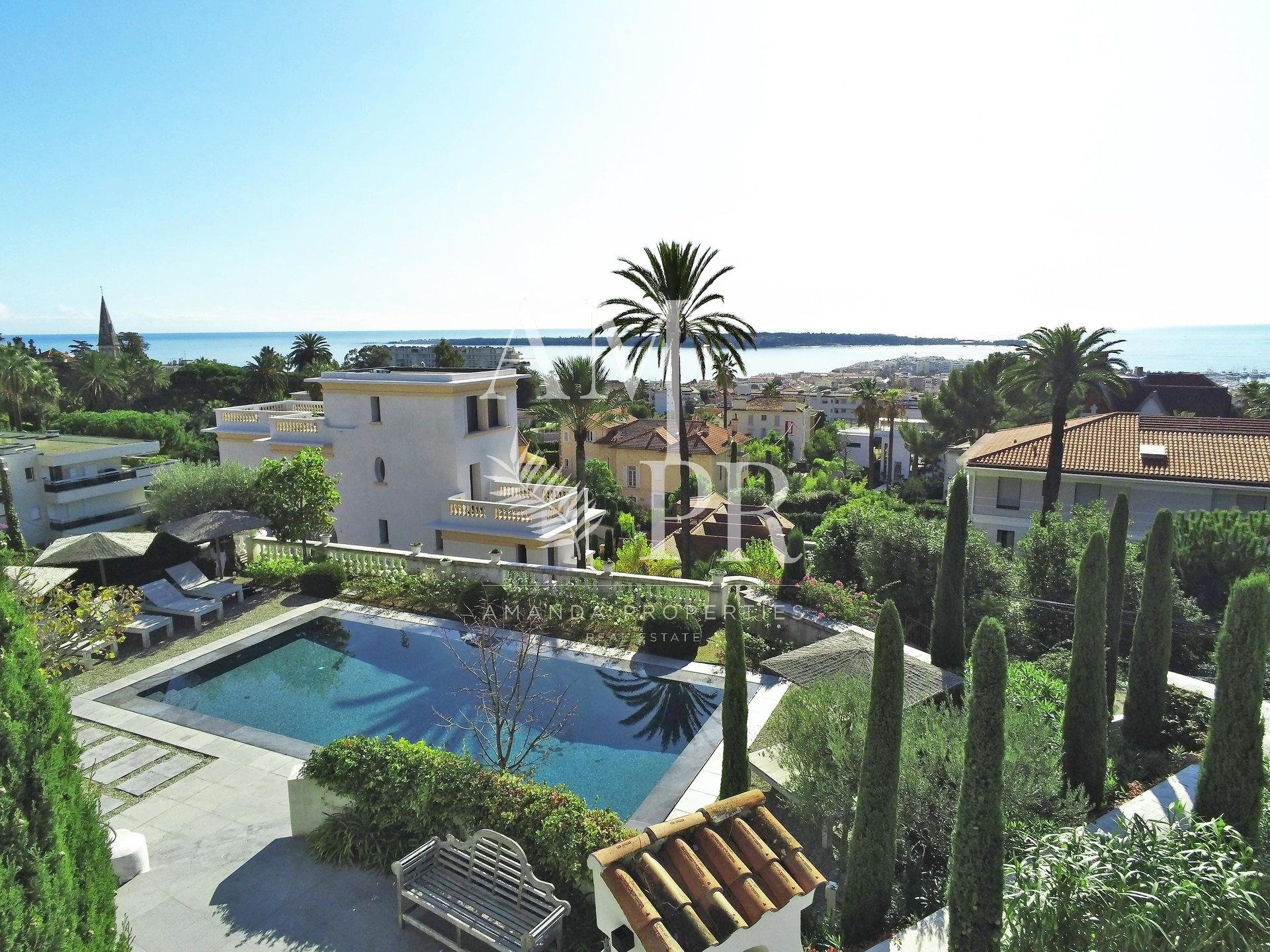 Cannes Californie - Mansion Panoramic Sea View - 10 People