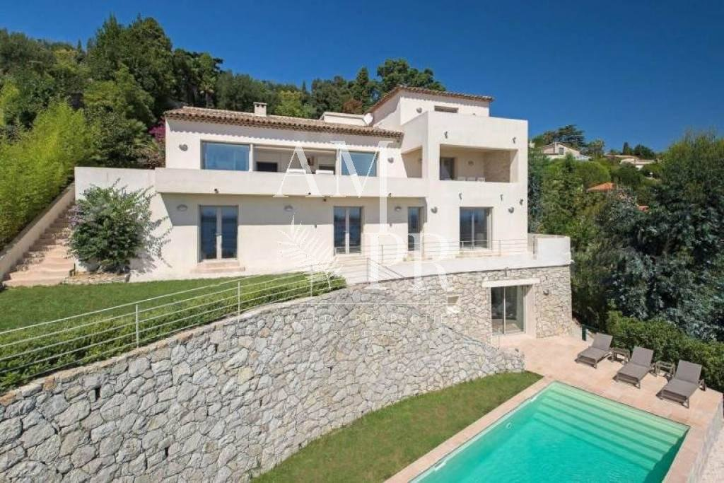 Modern and luxurious Villa - Cannes - panoramic sea view 12 people seasonal rental Congresses/long period