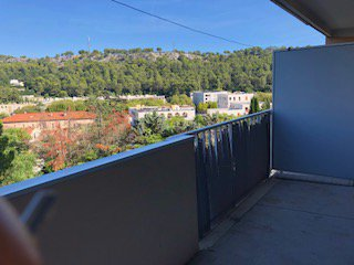 Appartement type 1, 25m², terrasse
