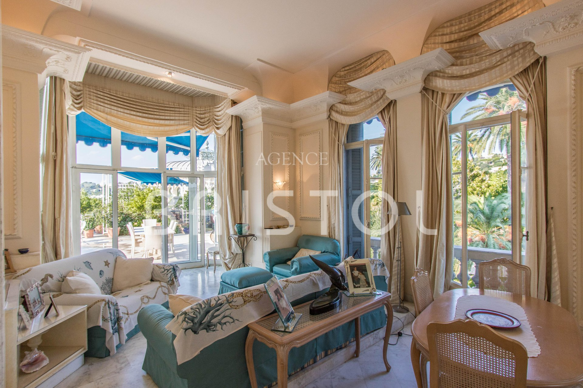 EXCEPTIONAL APARTMENT BEAULIEU SUR MERT IN THE BRISTOL RESIDENCE BIG TERRACE